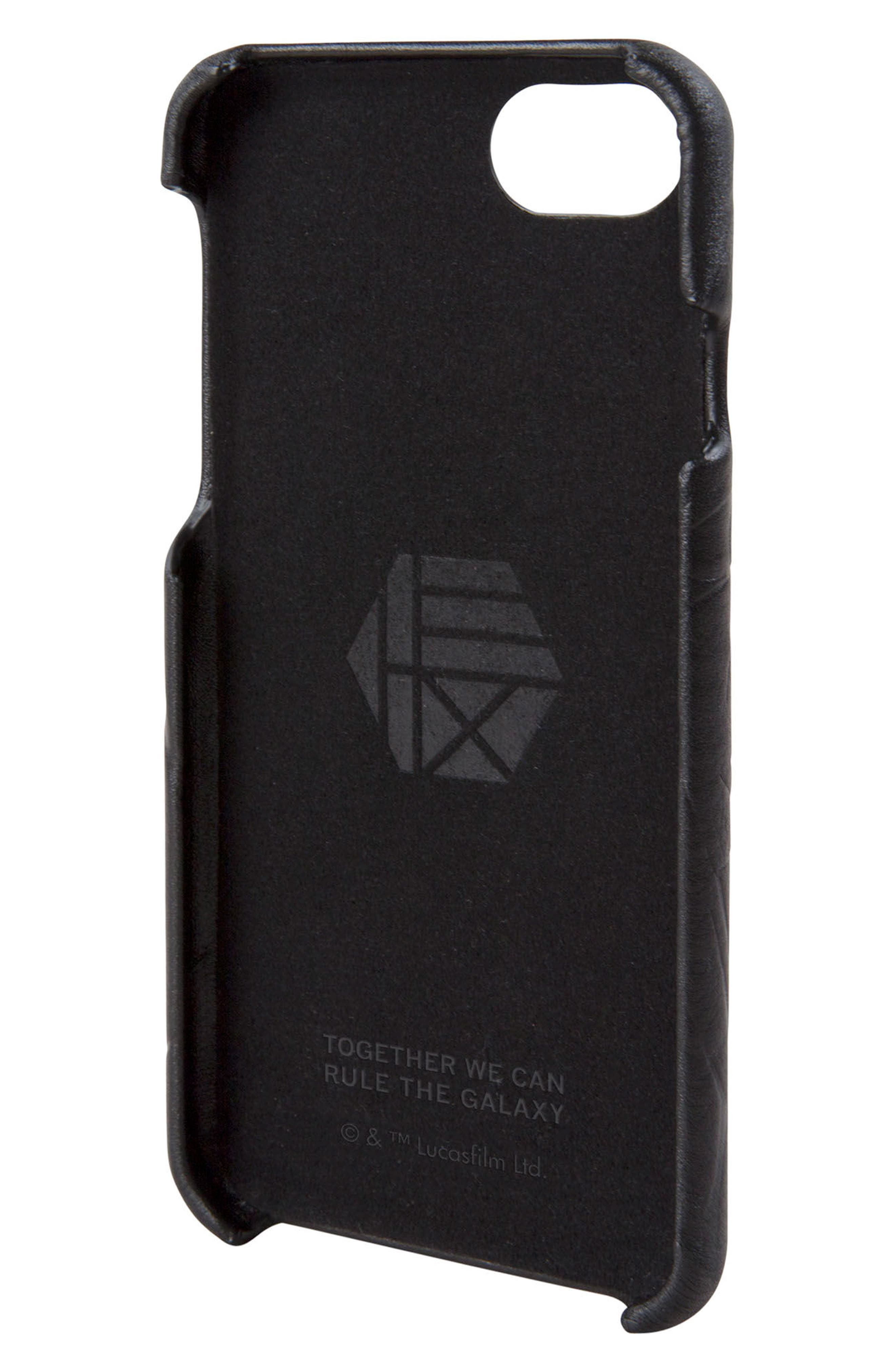 Darth Vader iPhone 6/6s/7/8 Case,                             Alternate thumbnail 2, color,                             Black