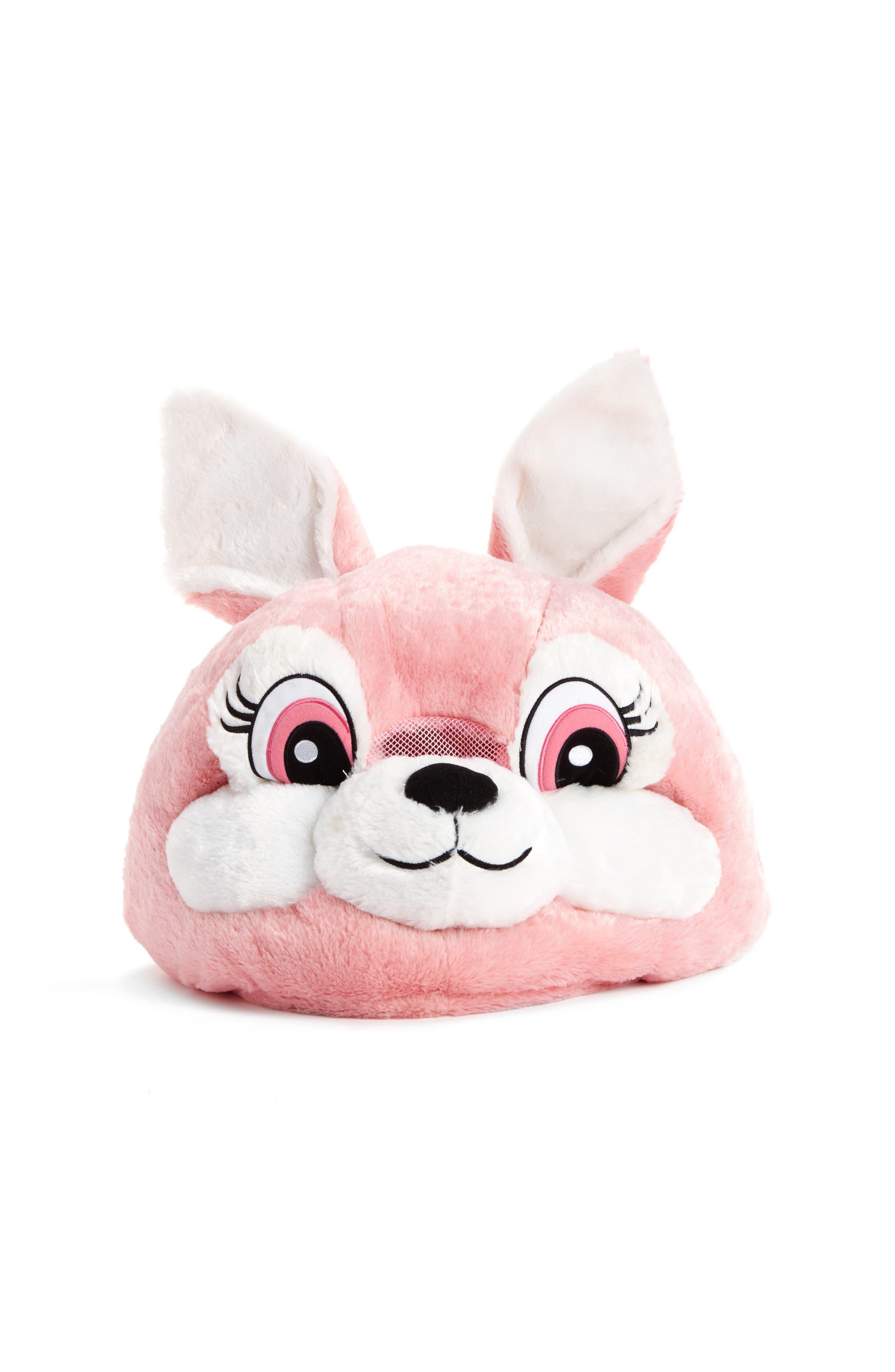 SAZAC Big Fat Head Rabbit Mascot Head