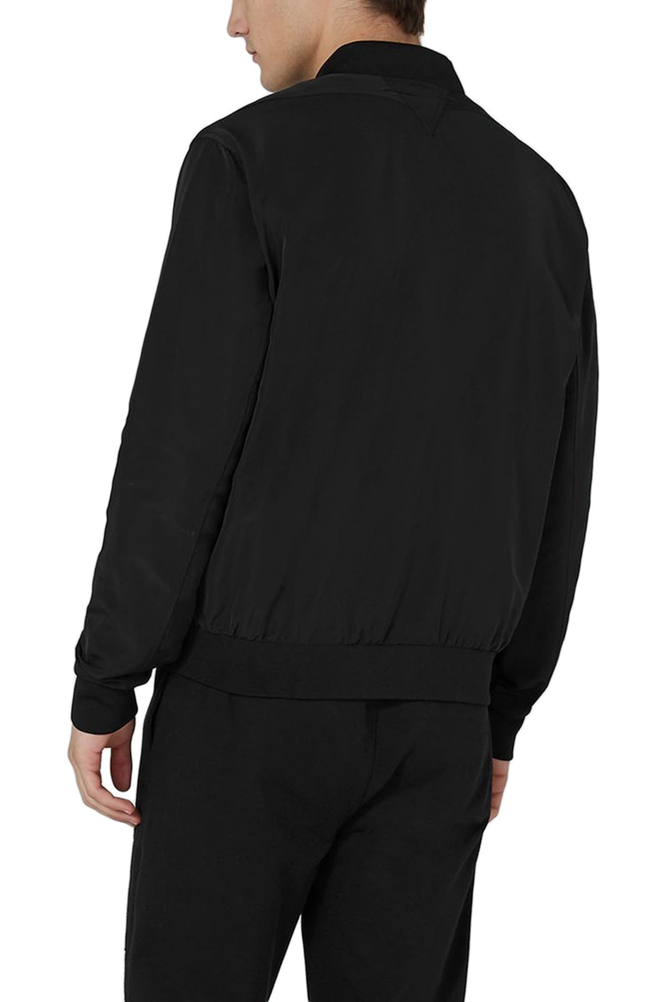 Alternate Image 2  - Topman Mesh Lined Bomber Jacket