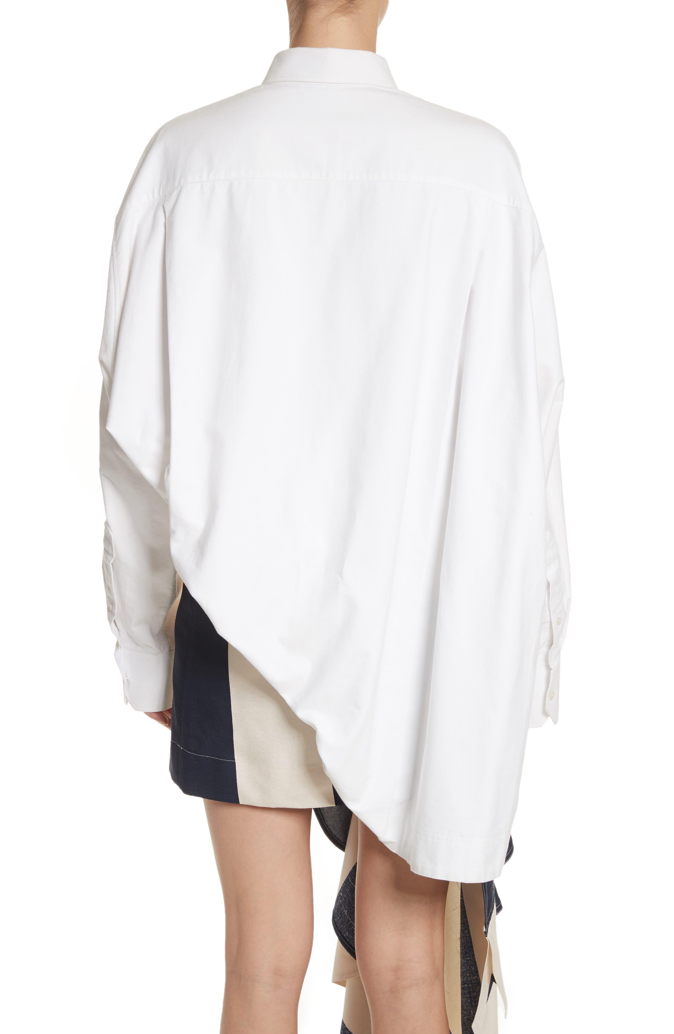 Alternate Image 2  - Calvin Klein 205W39NYC Oversize Policeman Shirt