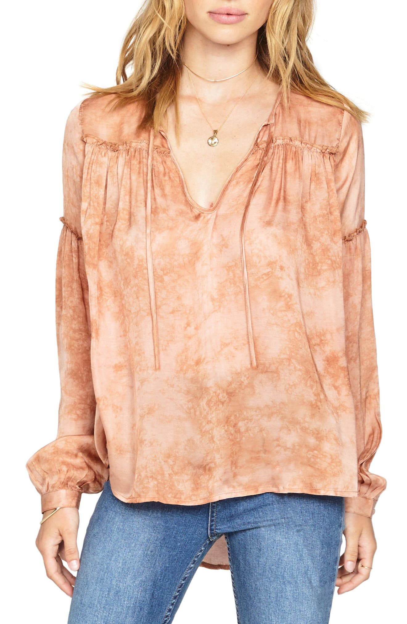 Main Image - Amuse Society Washed Out Top