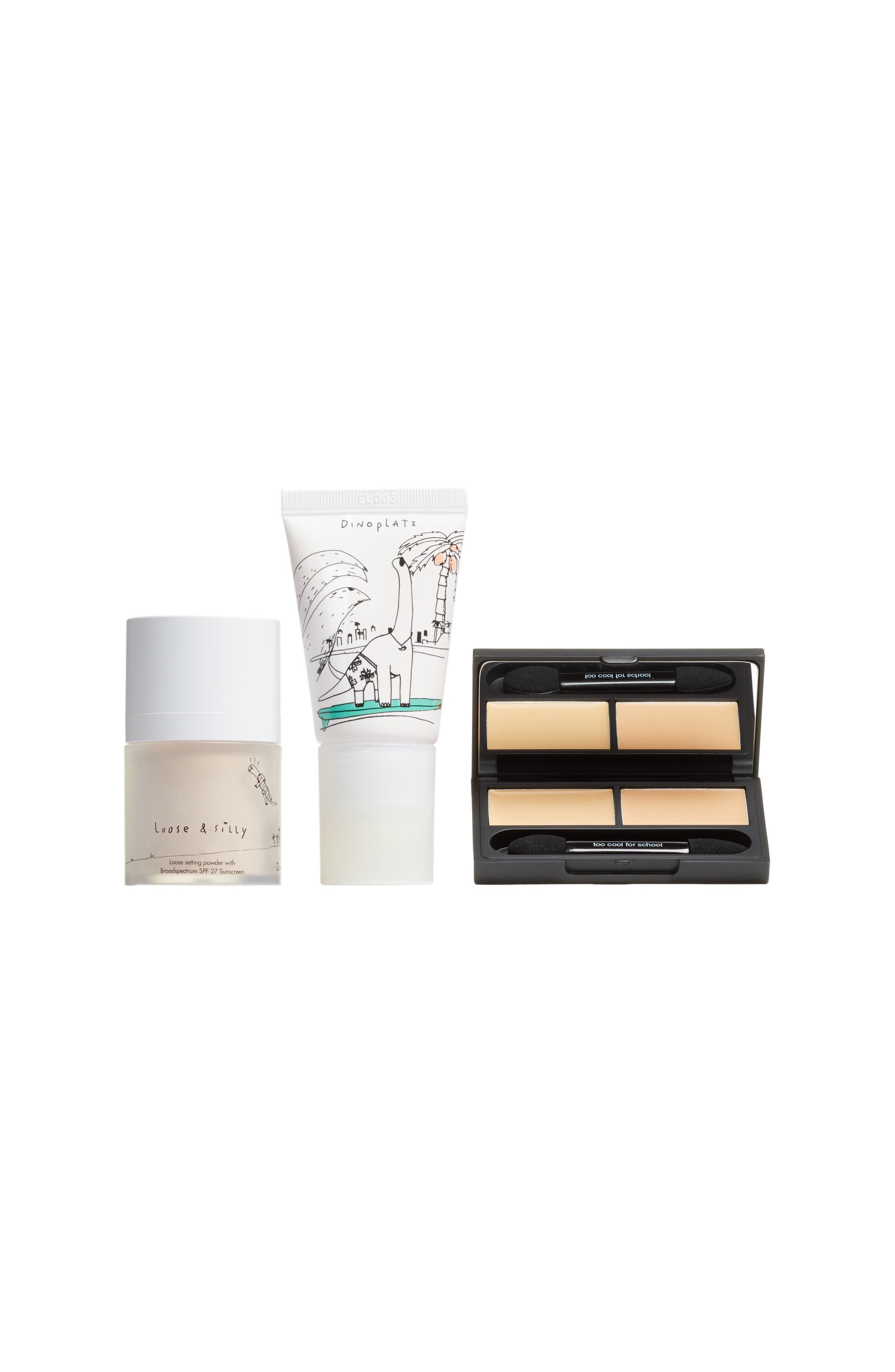 Too Cool For School Flawless Look Dinoplatz Blush, Concealer & Powder Set