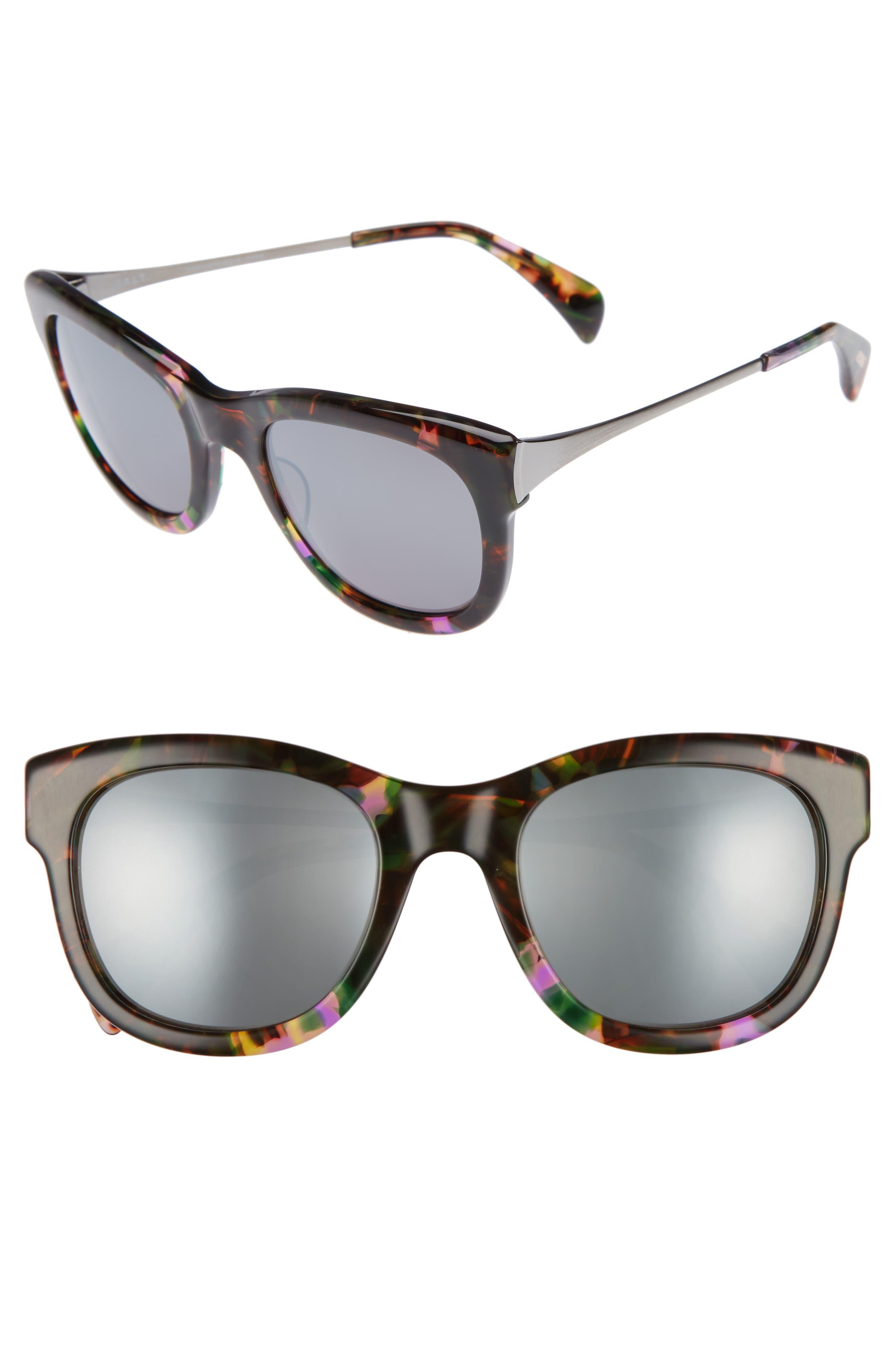 Main Image - Salt 53mm Polarized Square Sunglasses