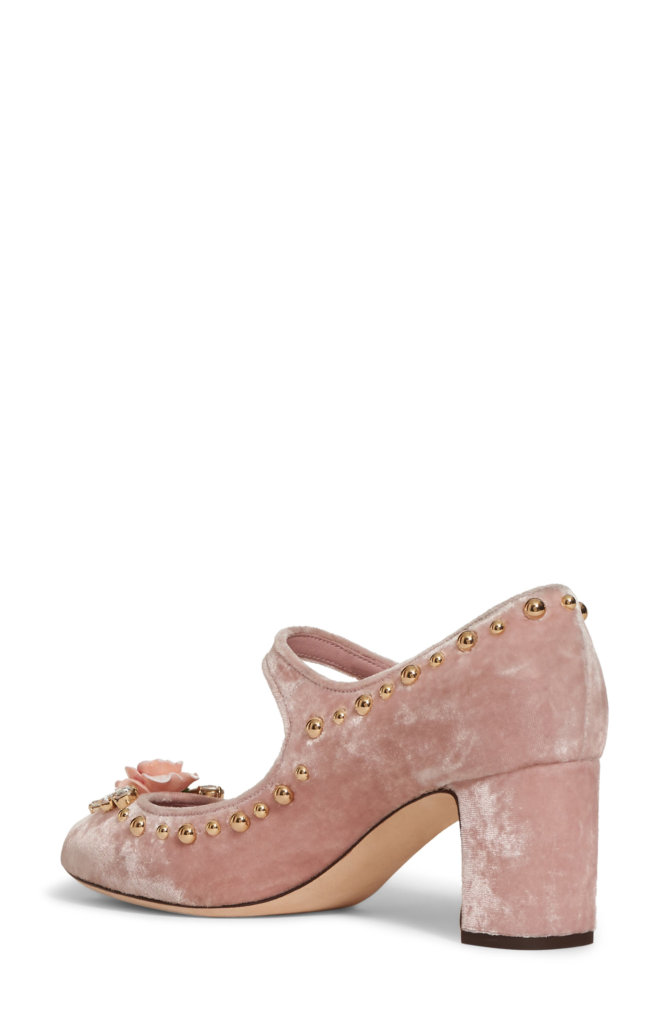 Rose Mary Jane Pump,                             Alternate thumbnail 2, color,                             Pink