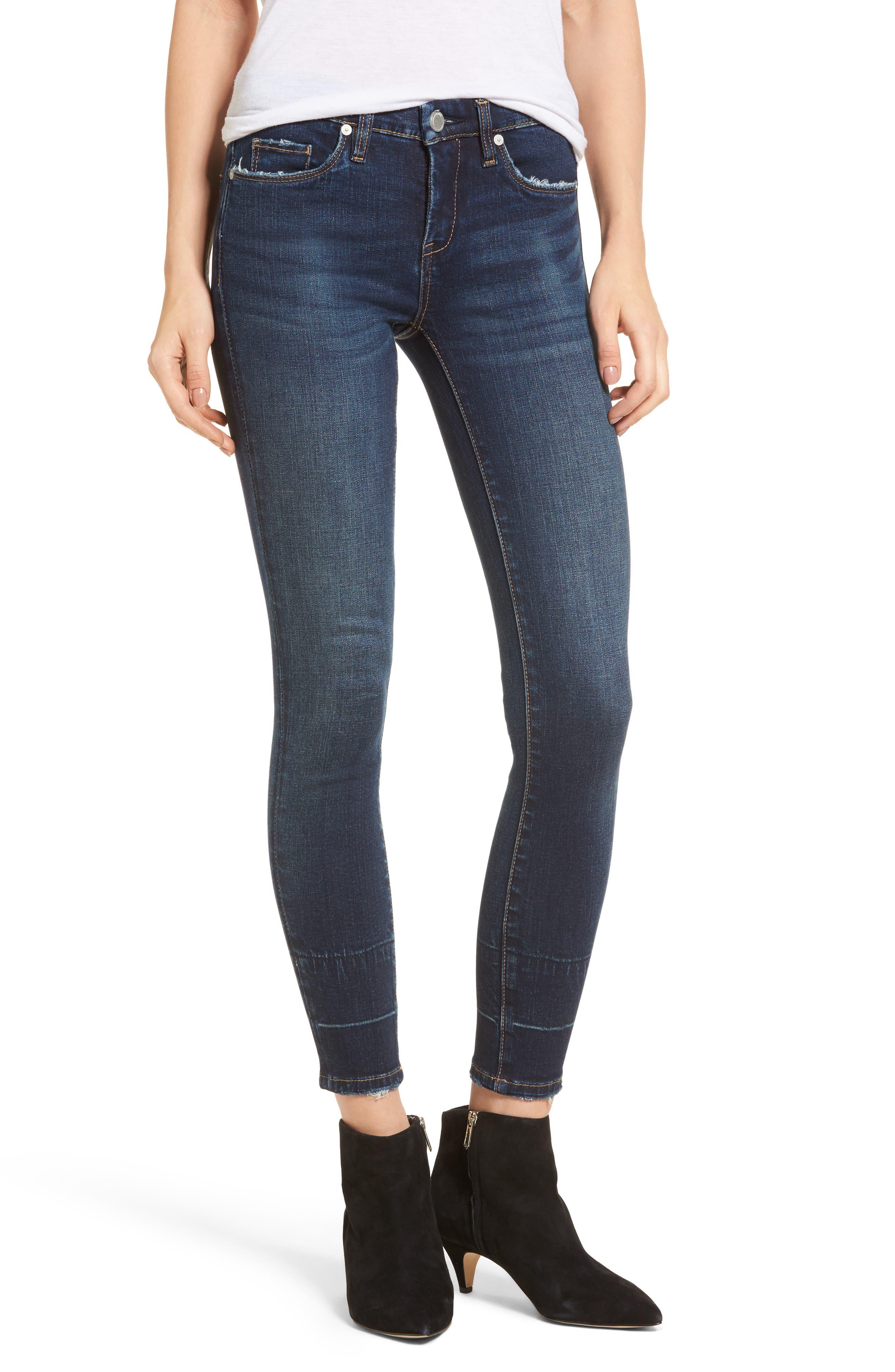 Release Hem Skinny Jeans,                         Main,                         color, Morning Makeout