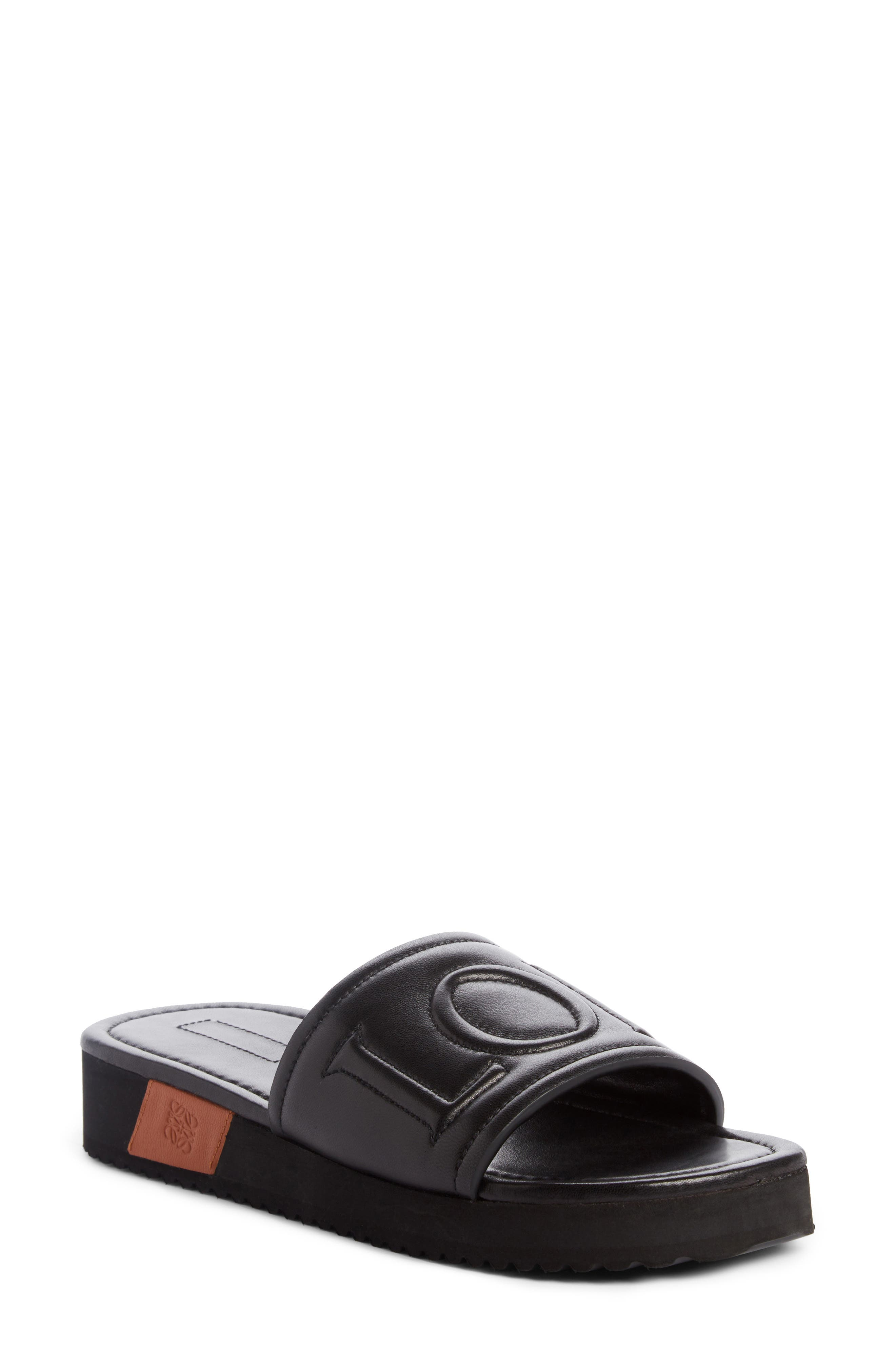 Loewe Logo Slide Sandal (Women)