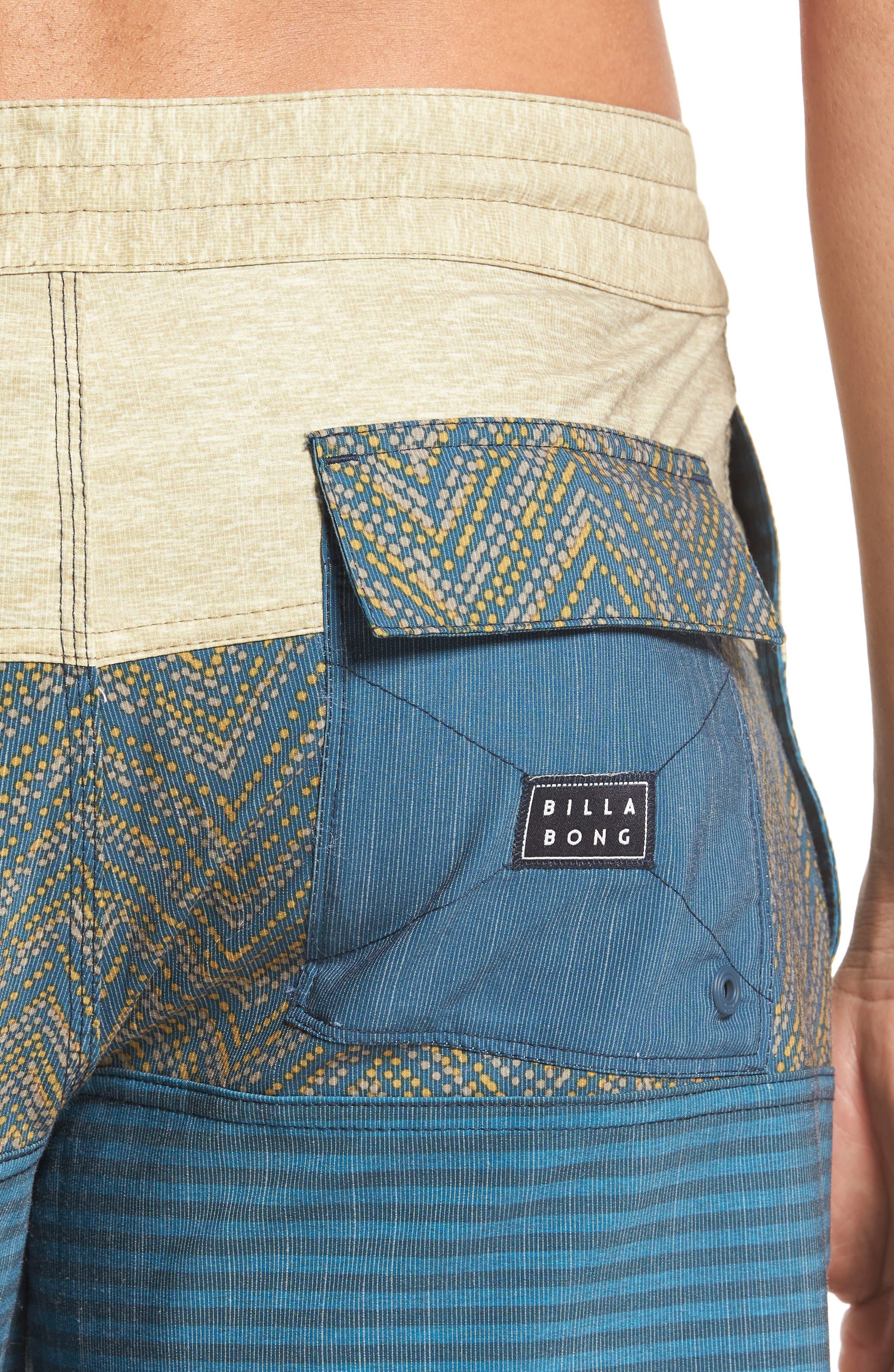 Tribong LT Board Shorts,                             Alternate thumbnail 4, color,                             Dijon