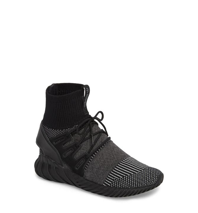 adidas Tubular Doom Primeknit Black White