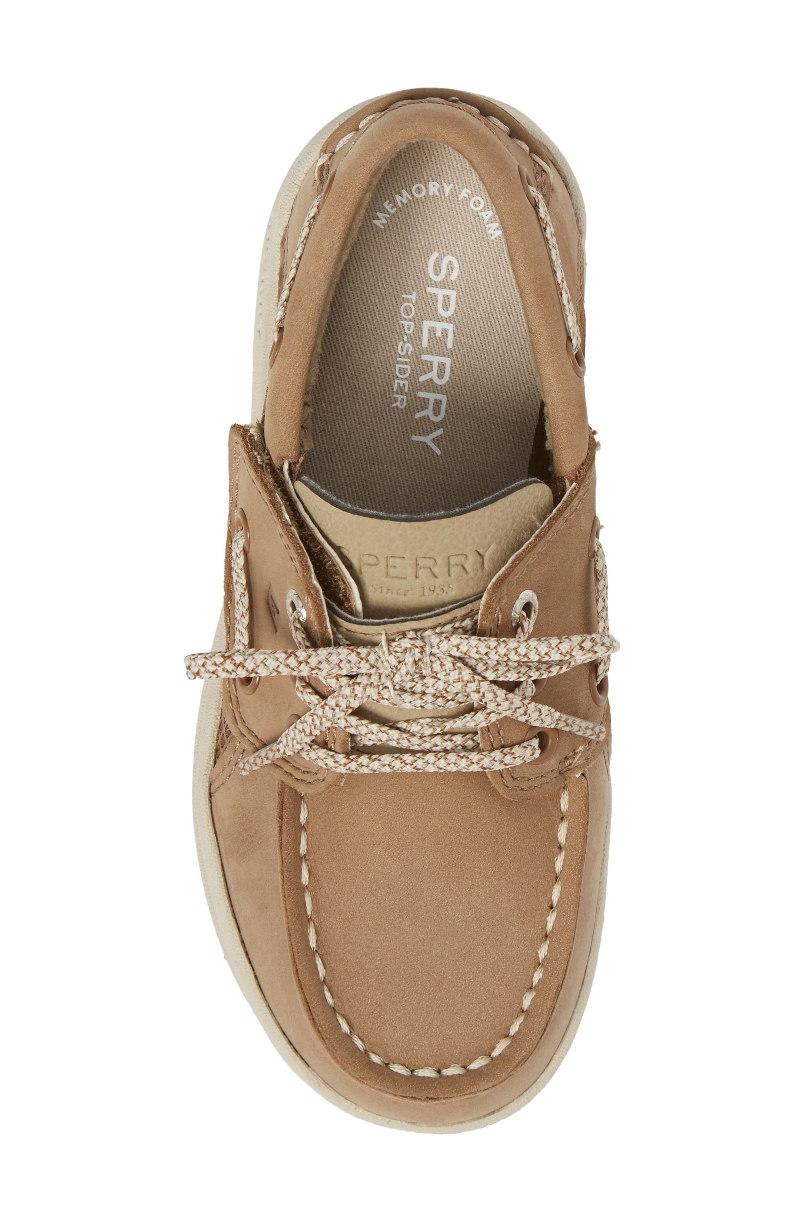 Alternate Image 5  - Sperry Kids Gamefish Boat Shoe (Walker & Toddler)