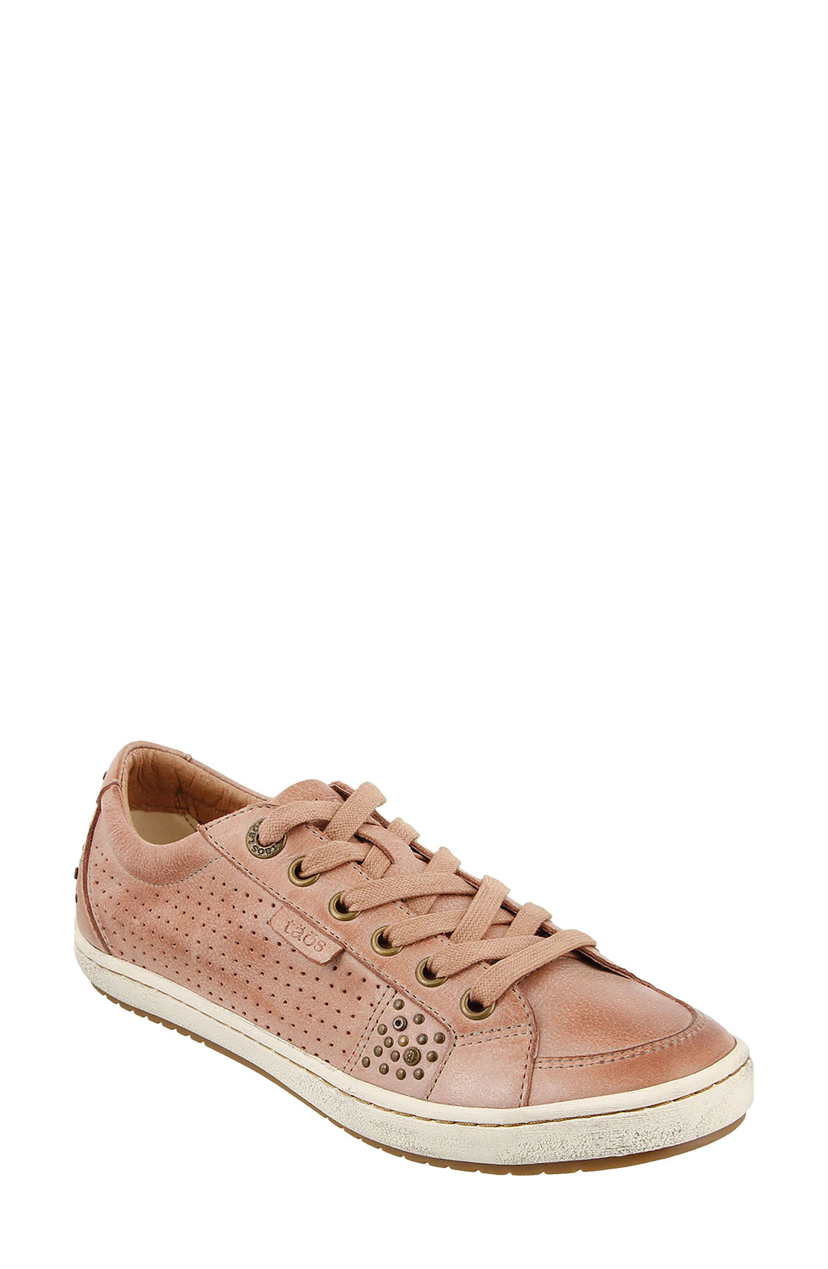 'Freedom' Sneaker,                             Main thumbnail 1, color,                             Blush Leather
