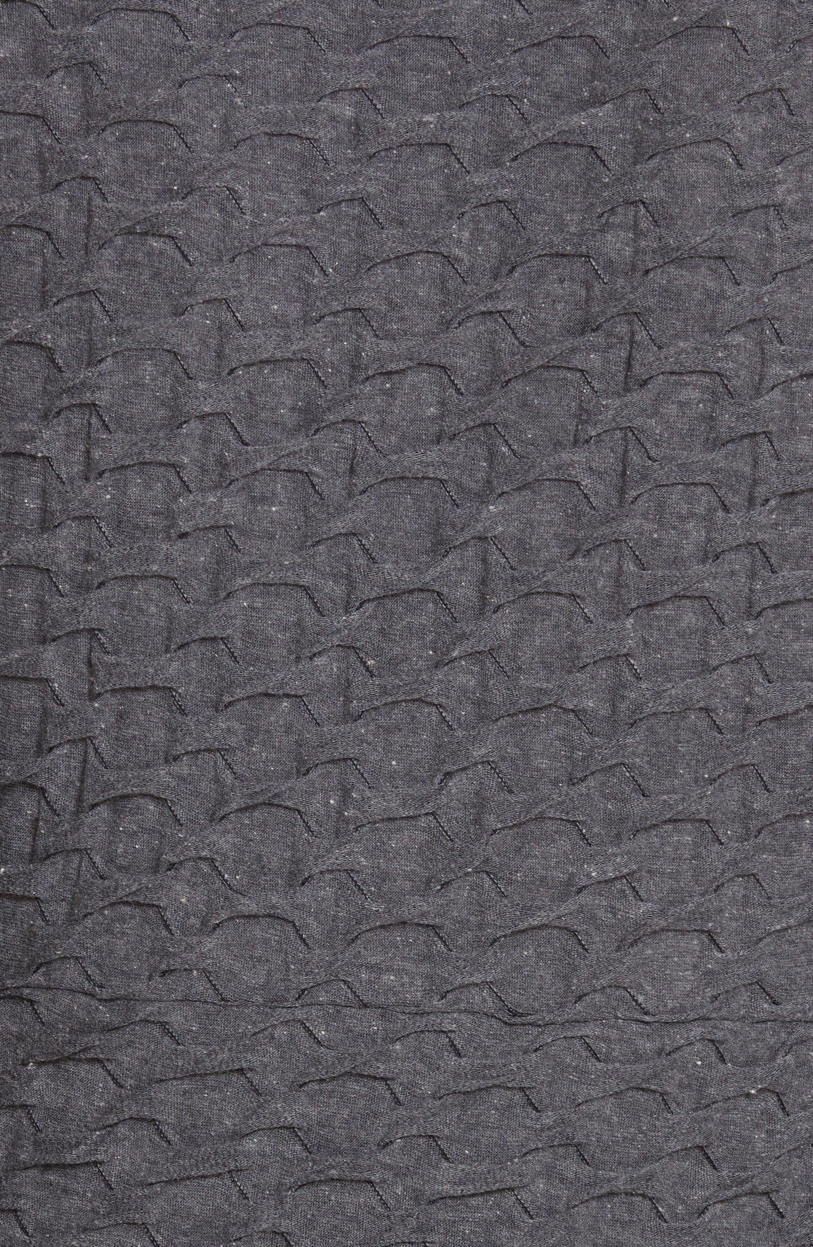 Surplice Sweater,                             Alternate thumbnail 5, color,                             Grey