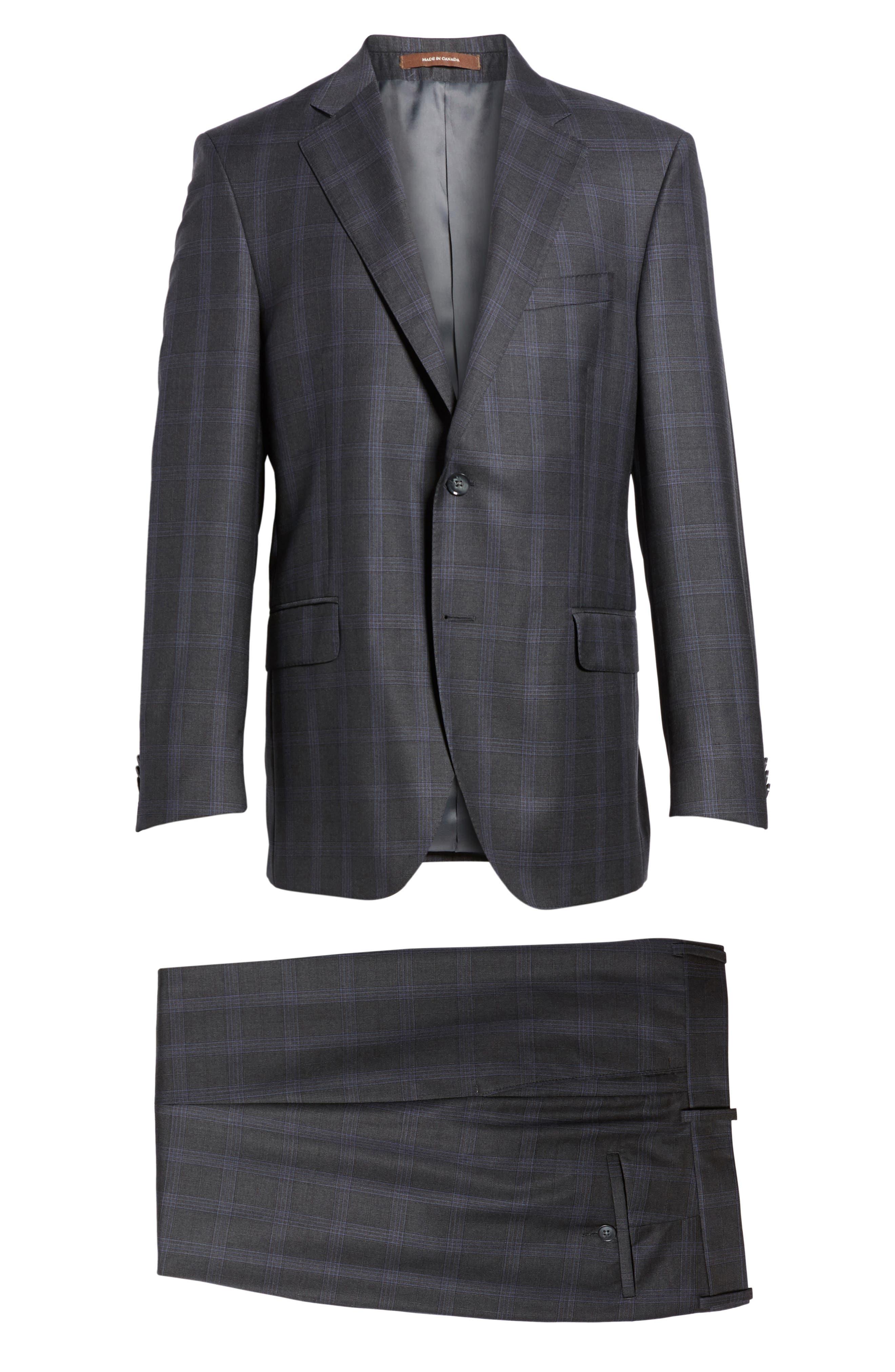 Alternate Image 8  - Peter Millar Classic Fit Plaid Wool Suit