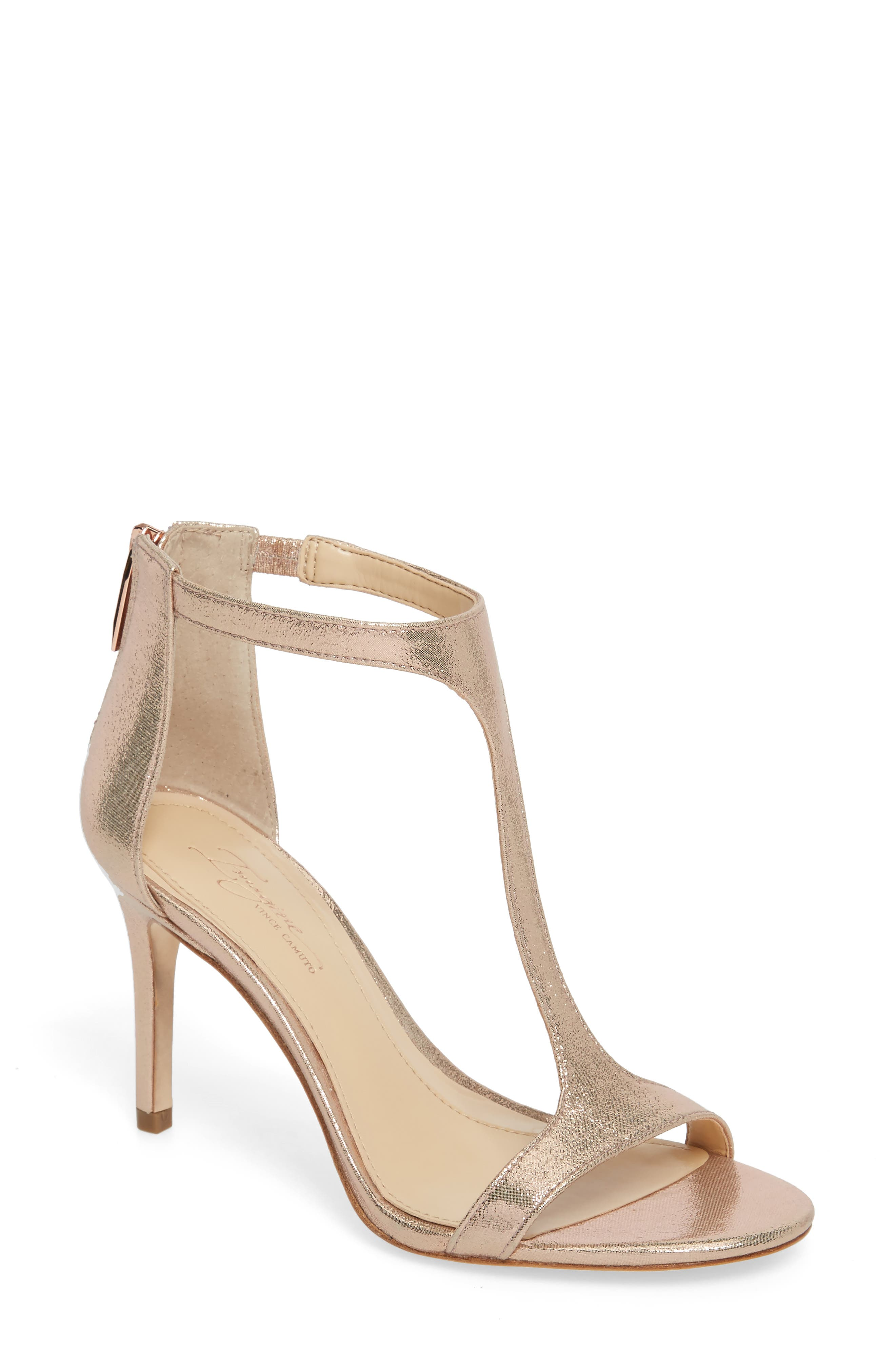 Alternate Image 1 Selected - Imagine by Vince Camuto 'Phoebe' Embellished T-Strap Sandal (Women)