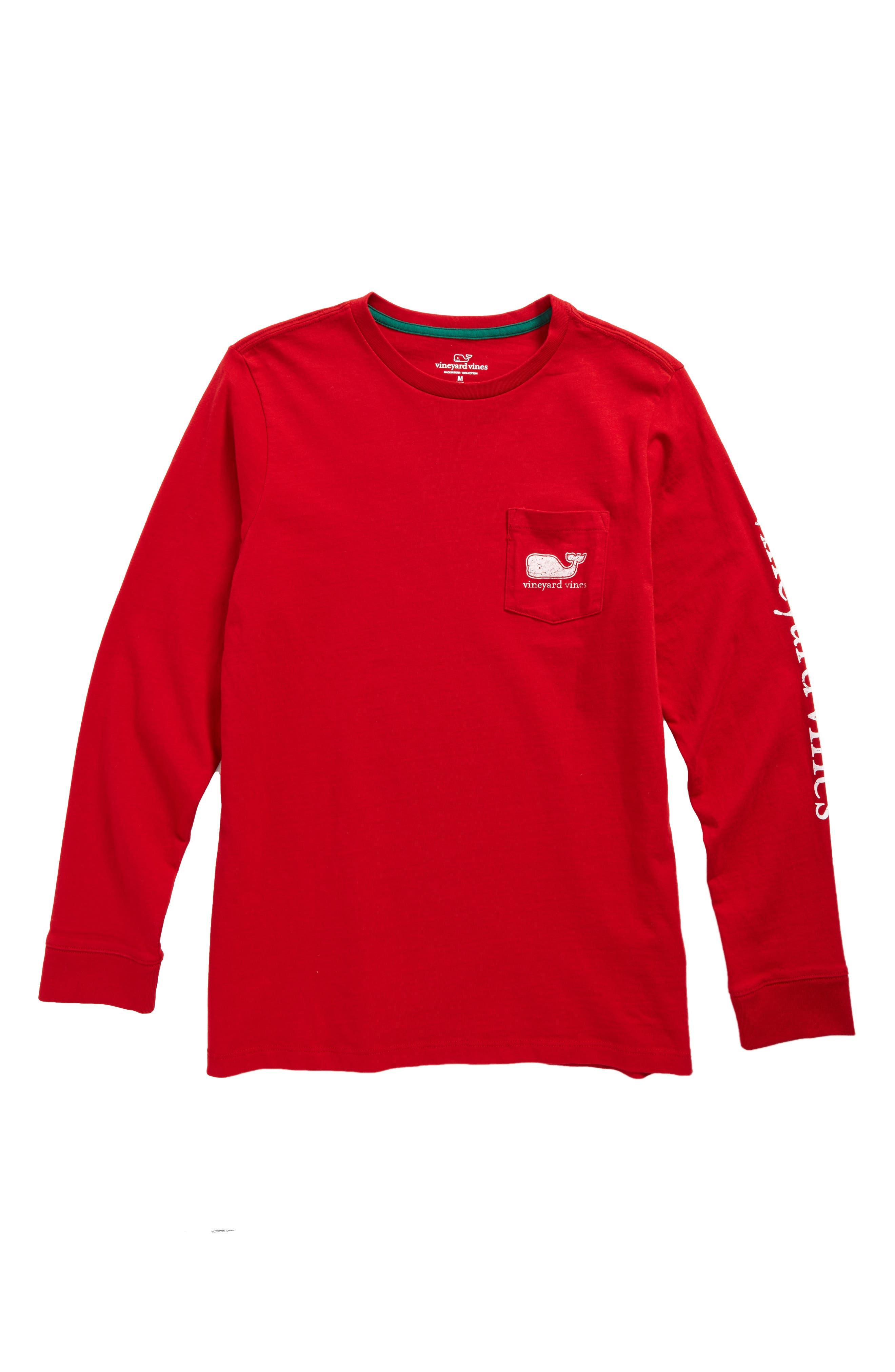 vineyard vines Vintage Whale Pocket T-Shirt (Big Boys)