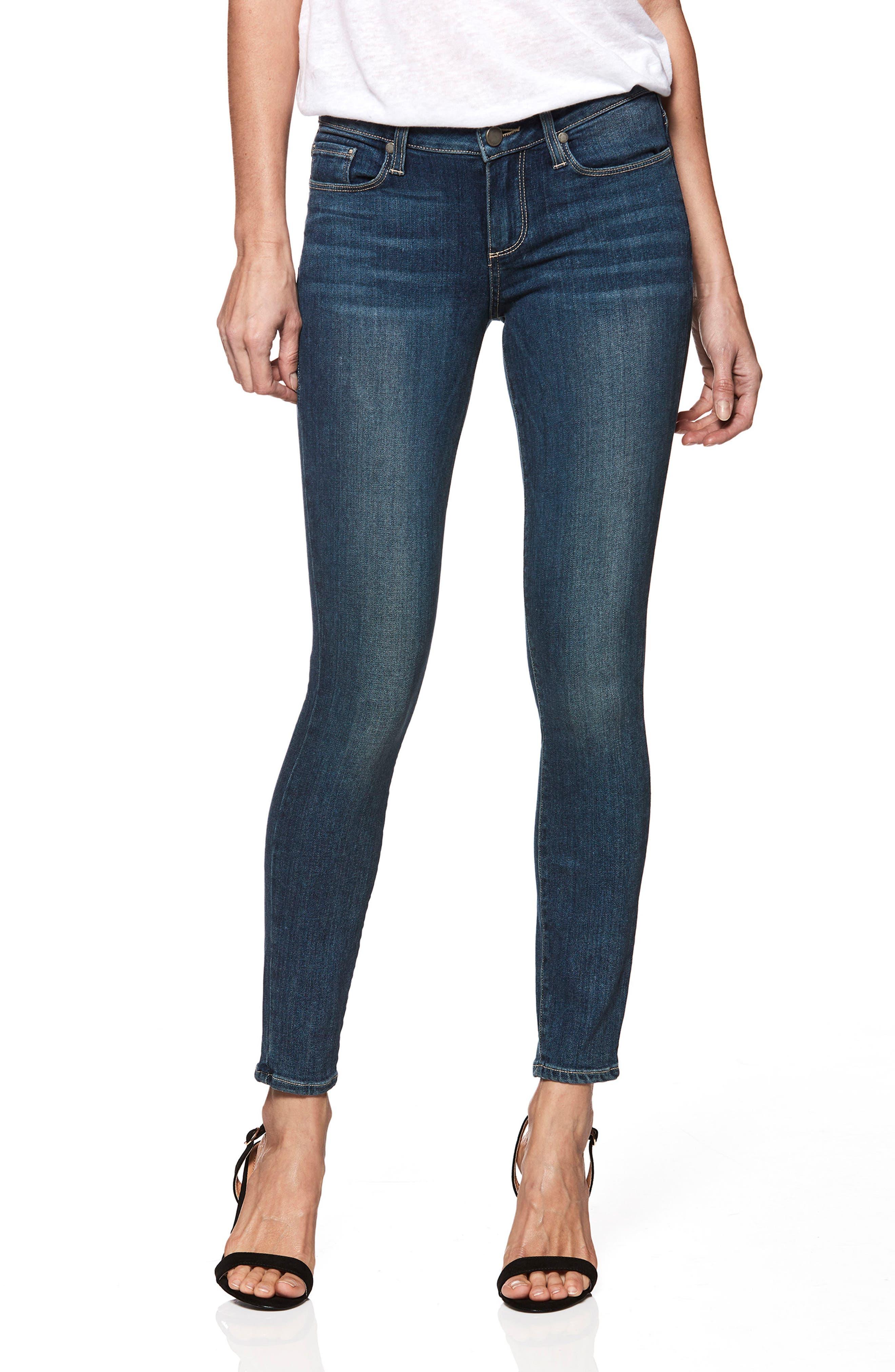 PAIGE Transcend - Verdugo Ankle Skinny Jeans (Romsey)