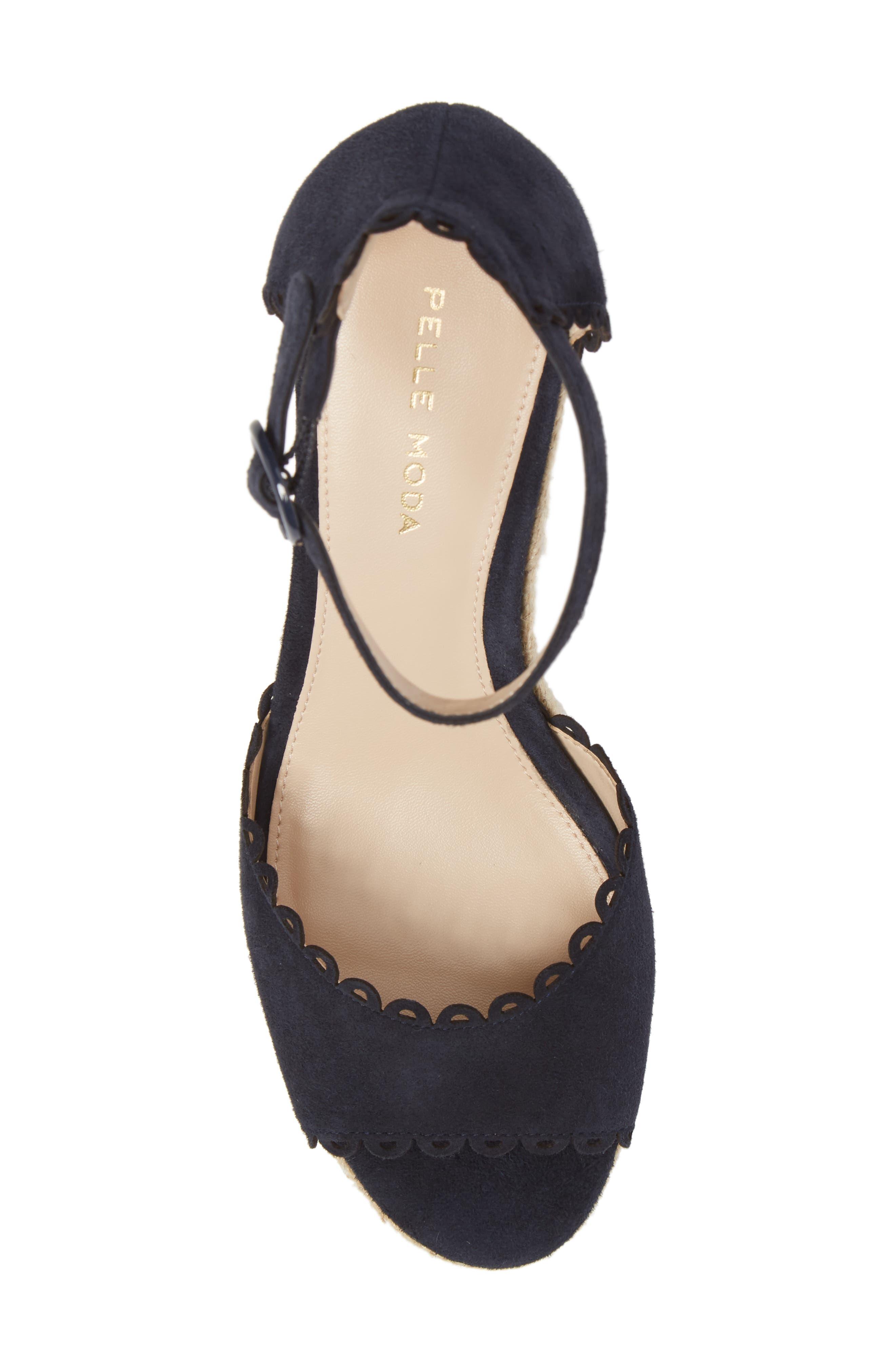 Alternate Image 5  - Pelle Moda Raine Platform Espadrille Sandal (Women)