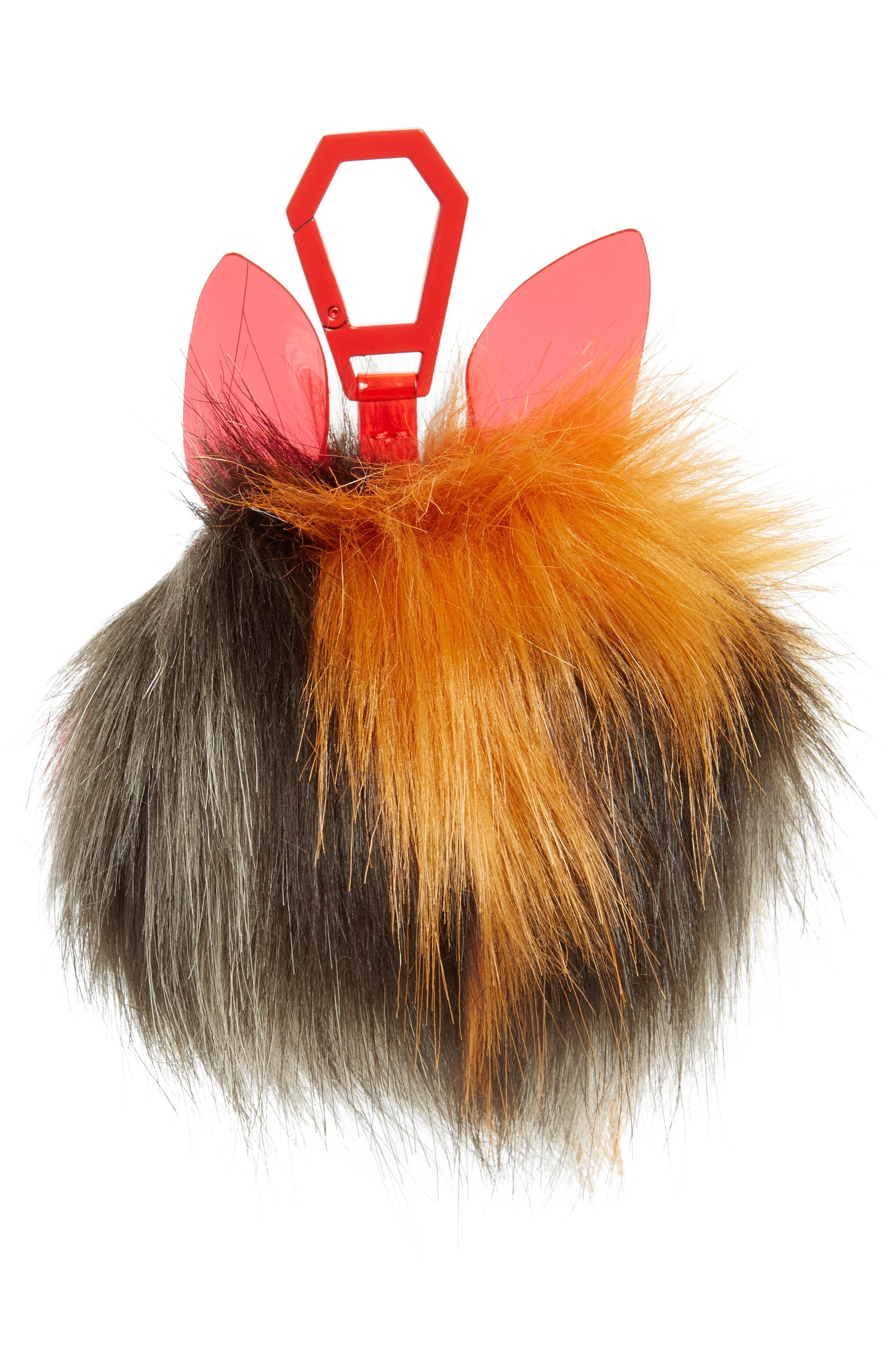 KENDALL + KYLIE Bee Dog Faux Fur Bag Charm