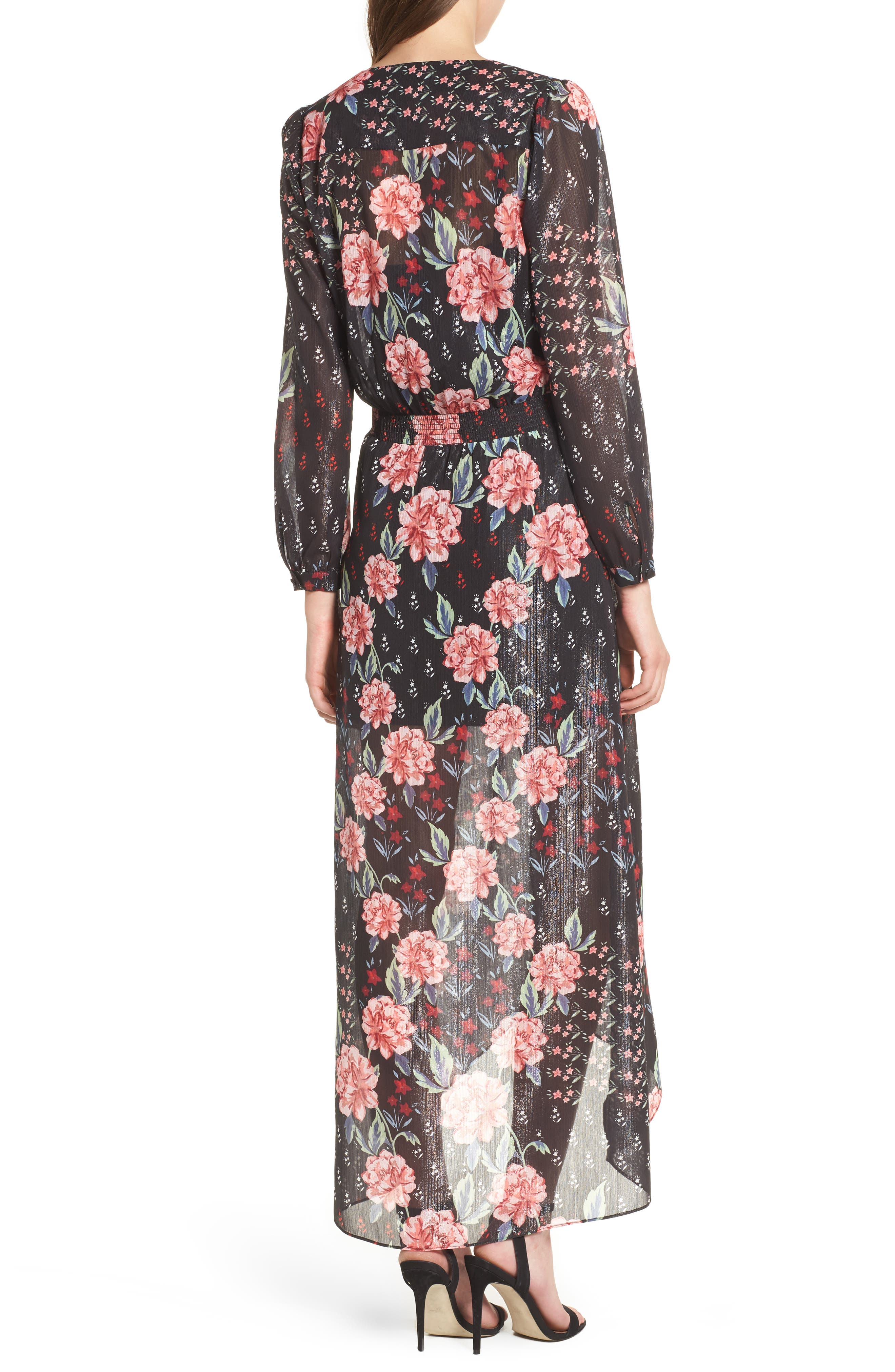 Alternate Image 2  - devlin Abby Maxi Dress