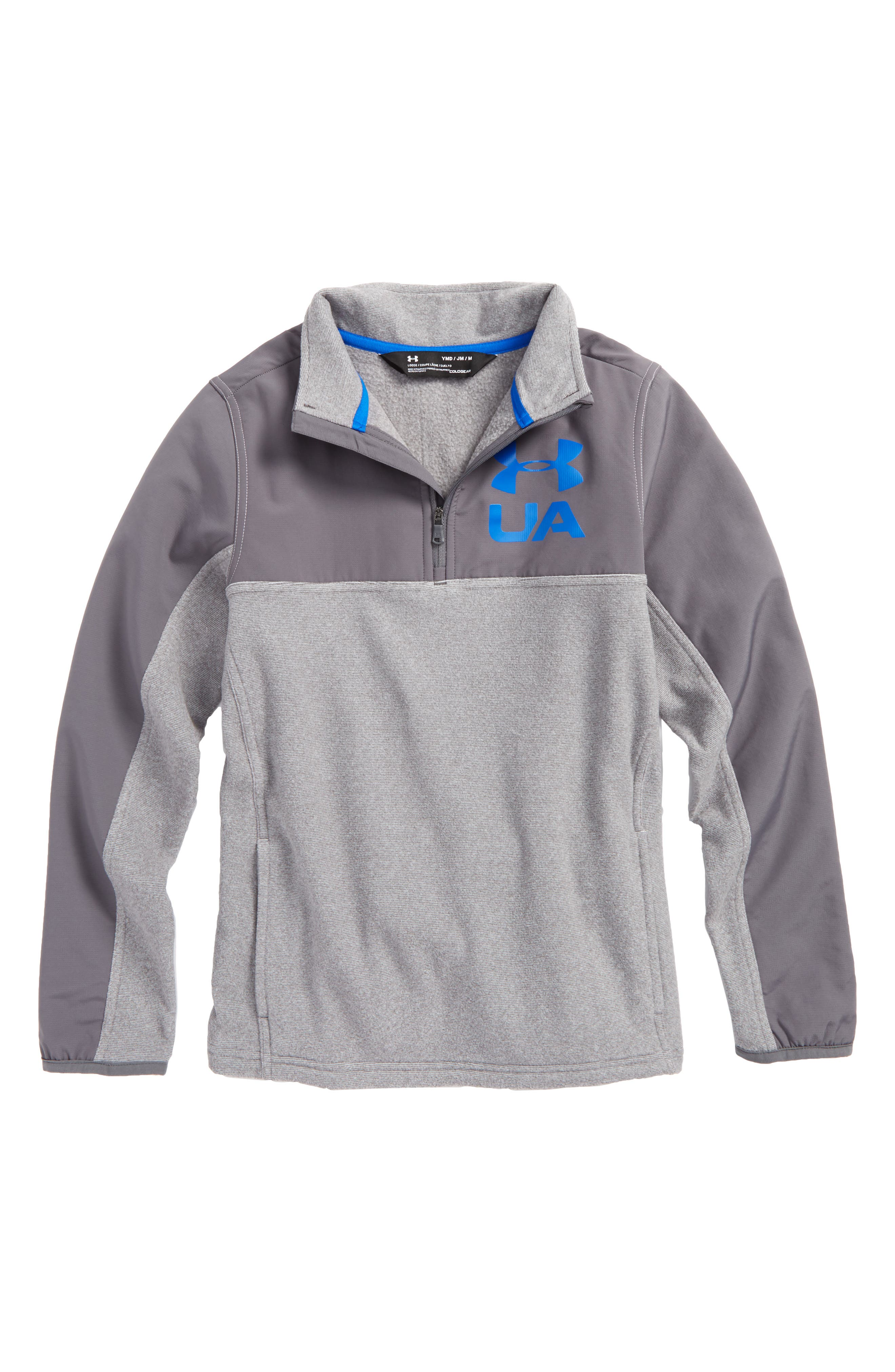 Under Armour Phenom ColdGear® Quarter Zip Pullover (Big Boys)