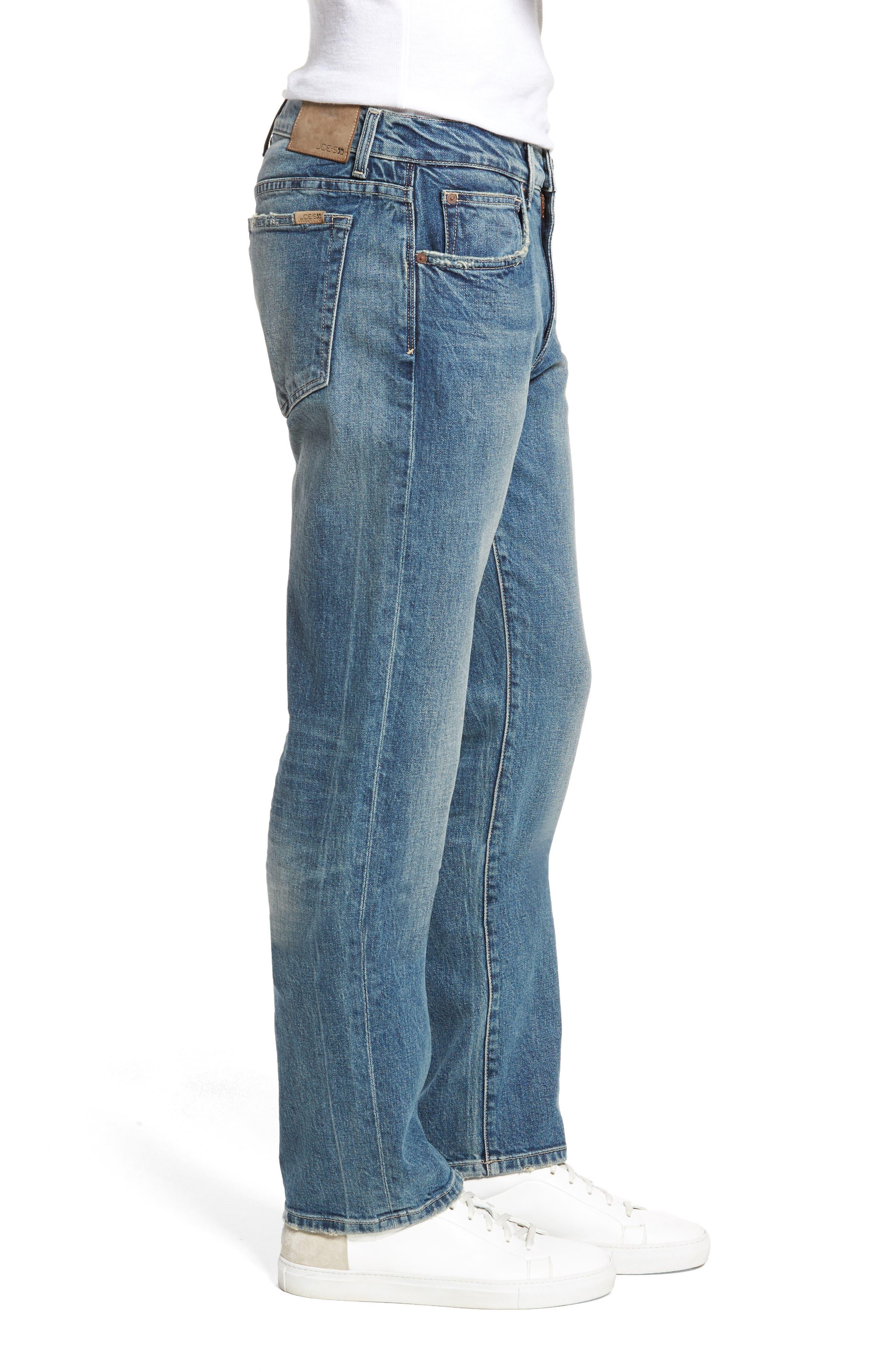 Brixton Slim Straight Fit Jeans,                             Alternate thumbnail 3, color,                             Harken