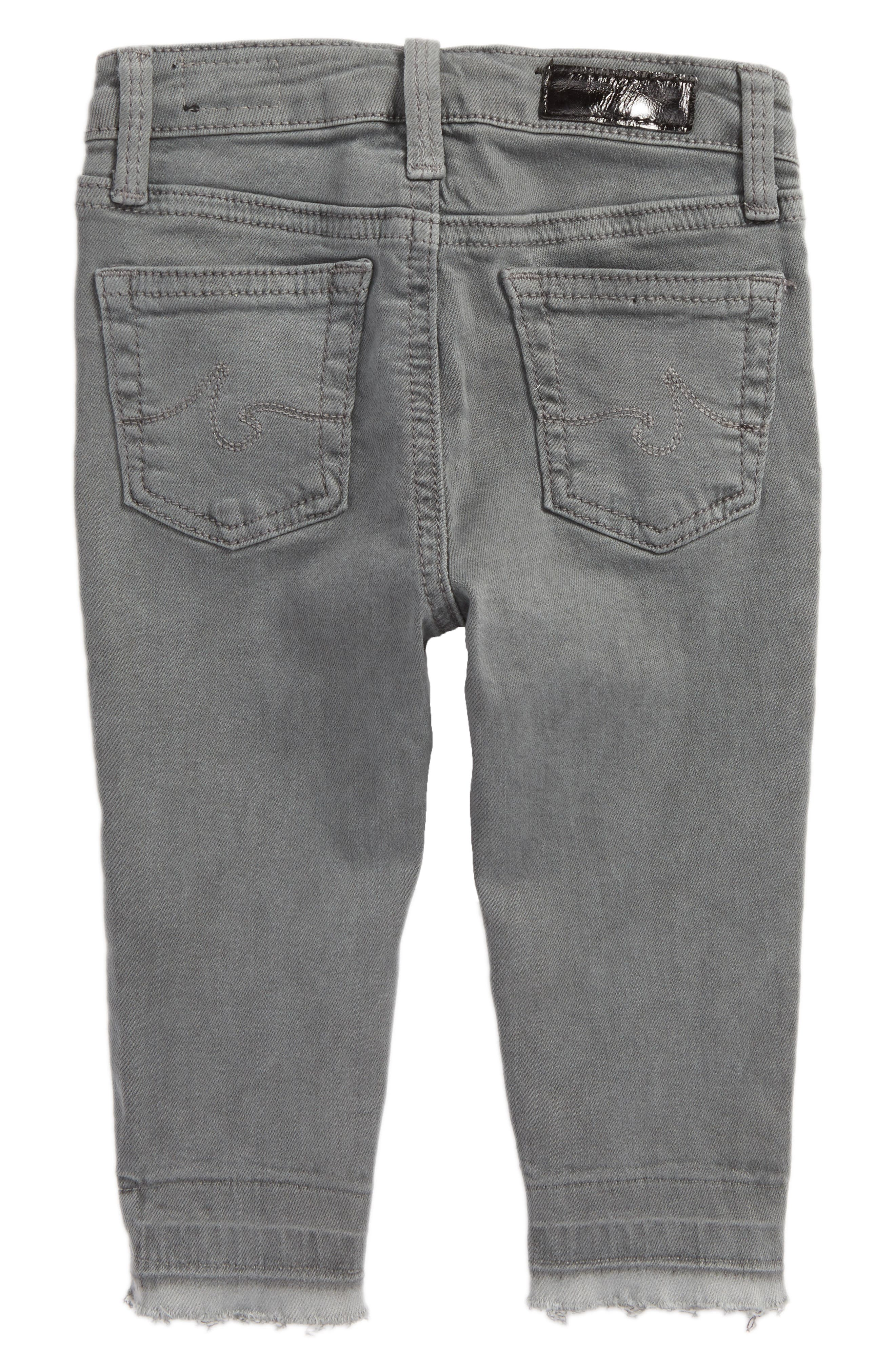 Alternate Image 2  - ag adriano goldschmied kids The Stella Super Skinny Jeans (Baby Girls)