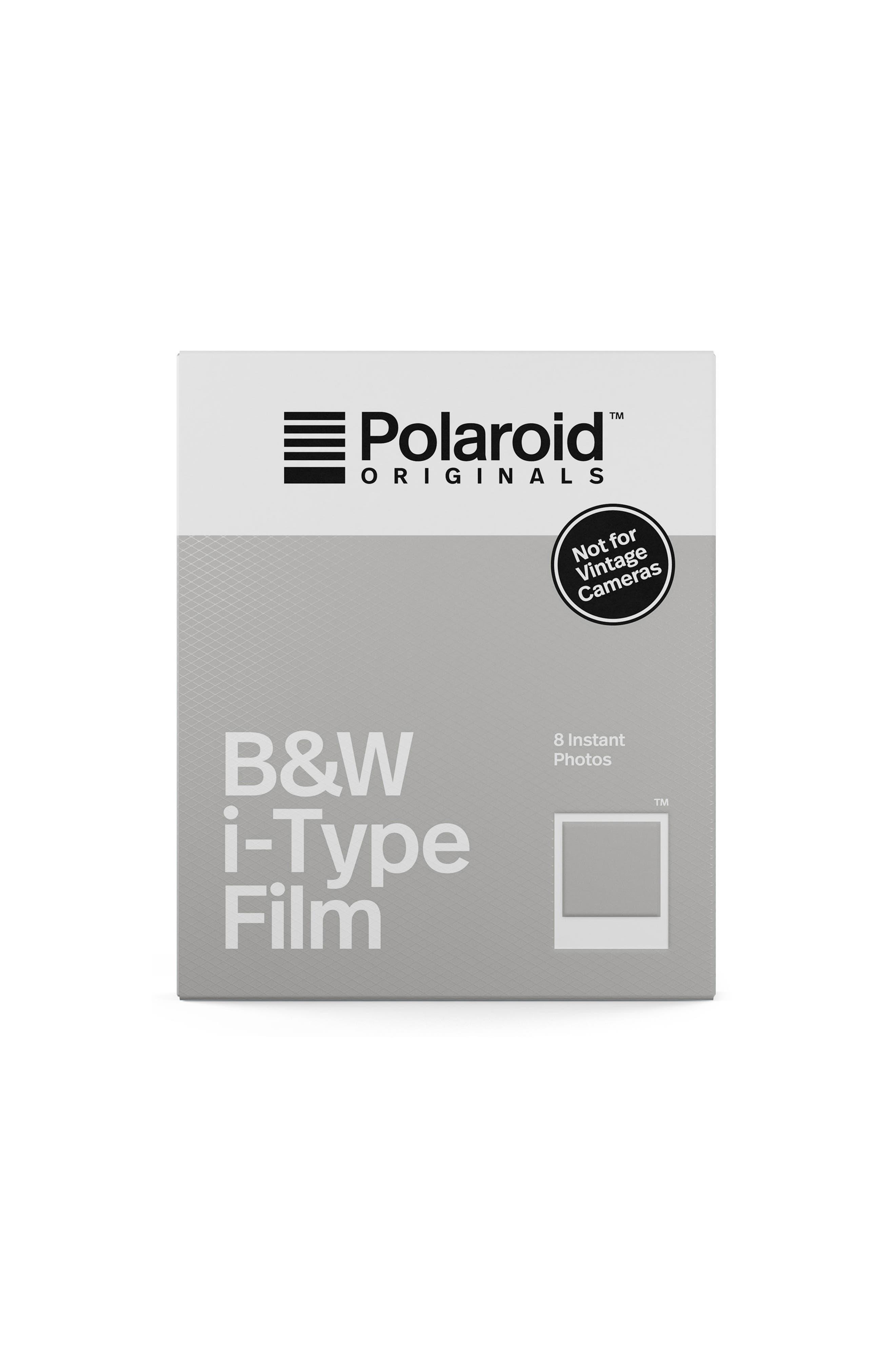 i-Type Black & White Instant Film,                         Main,                         color, None
