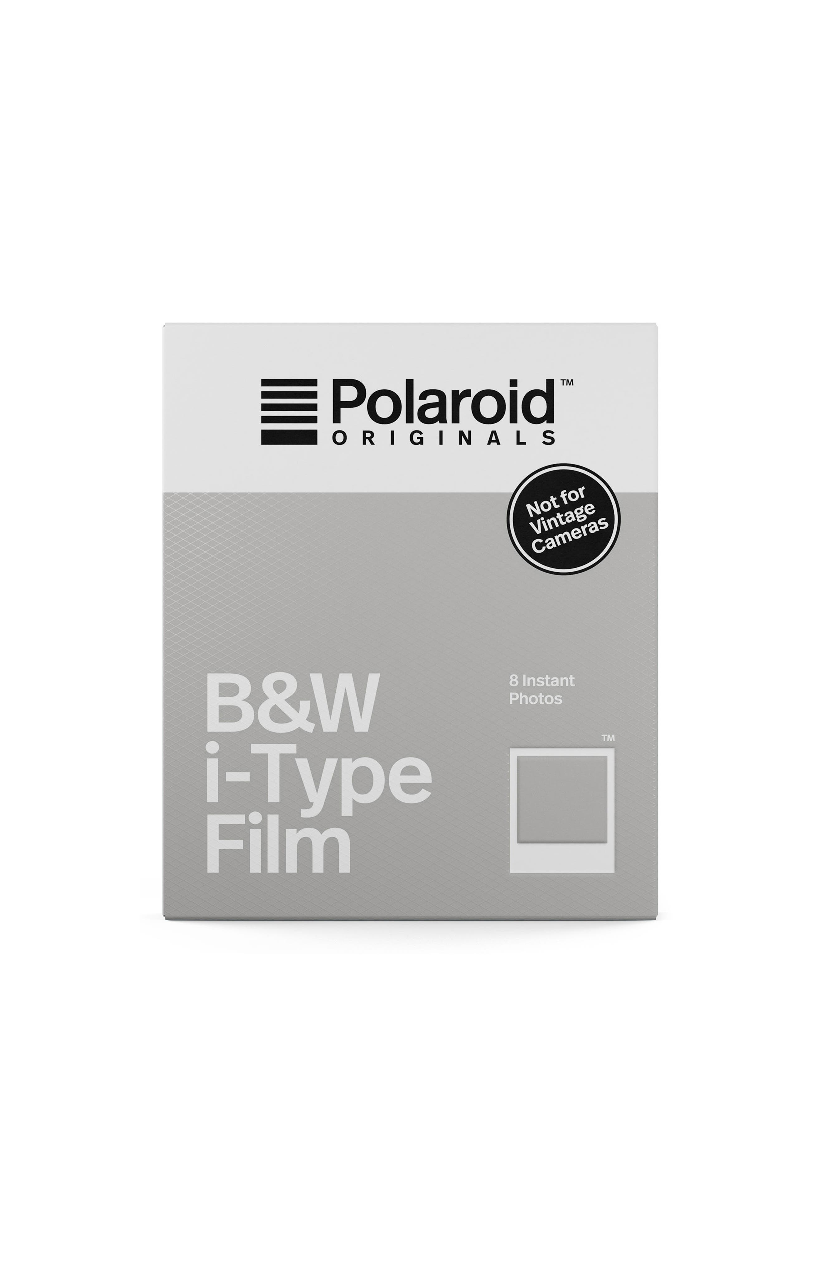 Impossible Project i-Type Black & White Instant Film