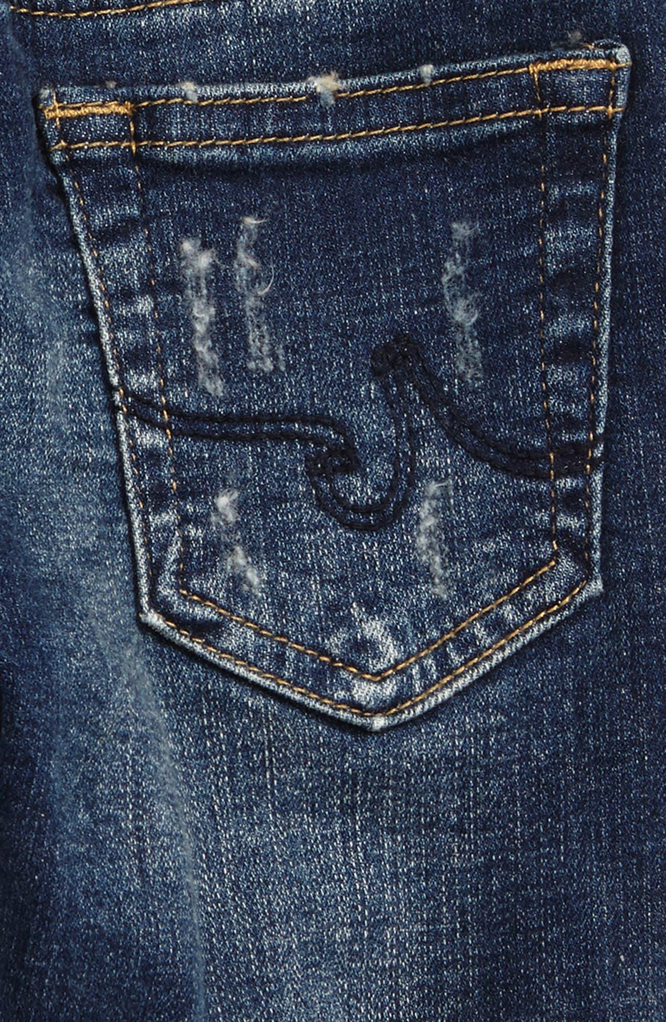 The Kingston Slim Jeans,                             Alternate thumbnail 3, color,                             Engine Wash