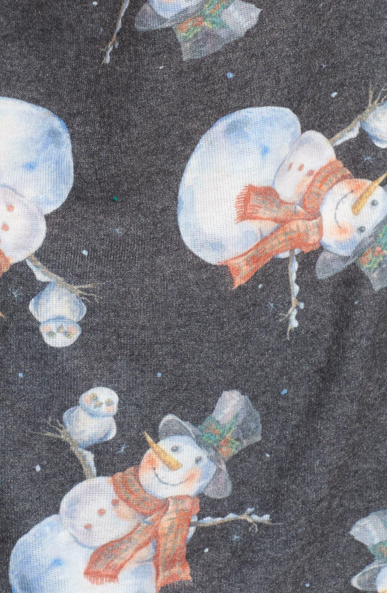 Alternate Image 5  - LOVE+GRACE Clara Flannel Pajamas