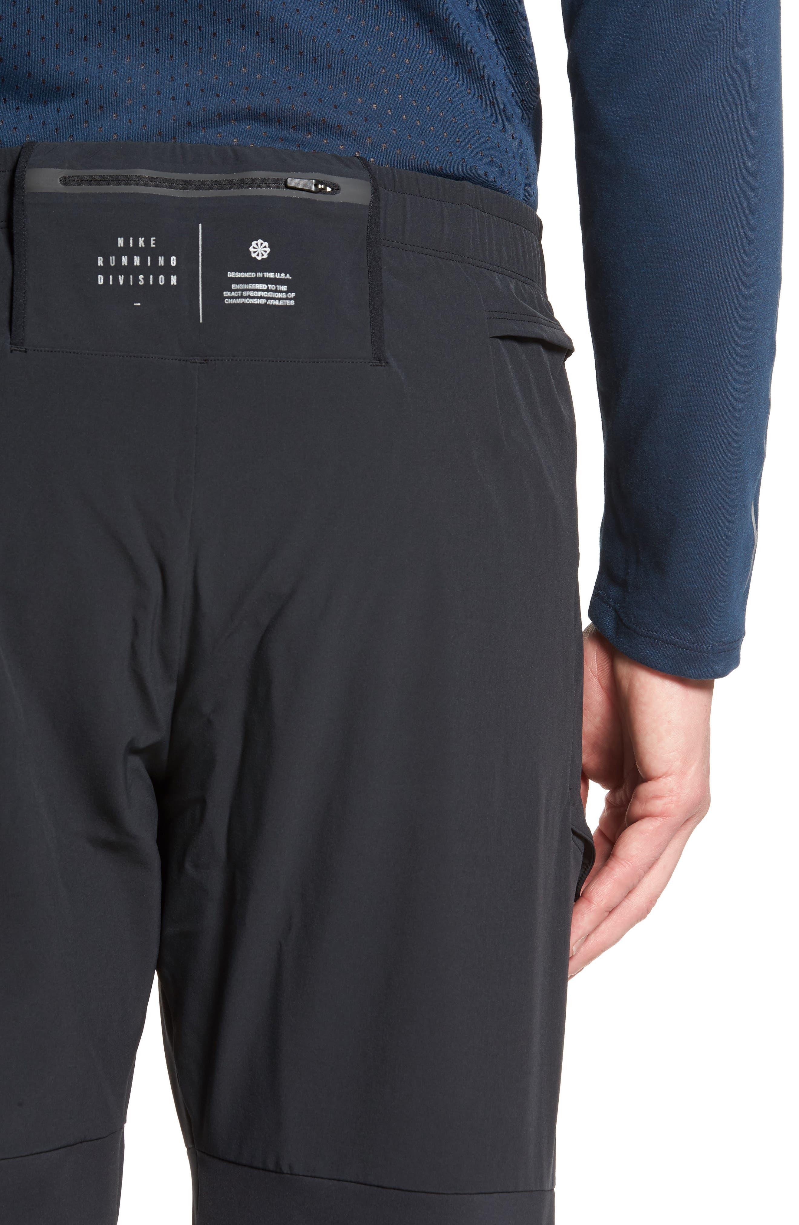 Running Pants,                             Alternate thumbnail 3, color,                             Black