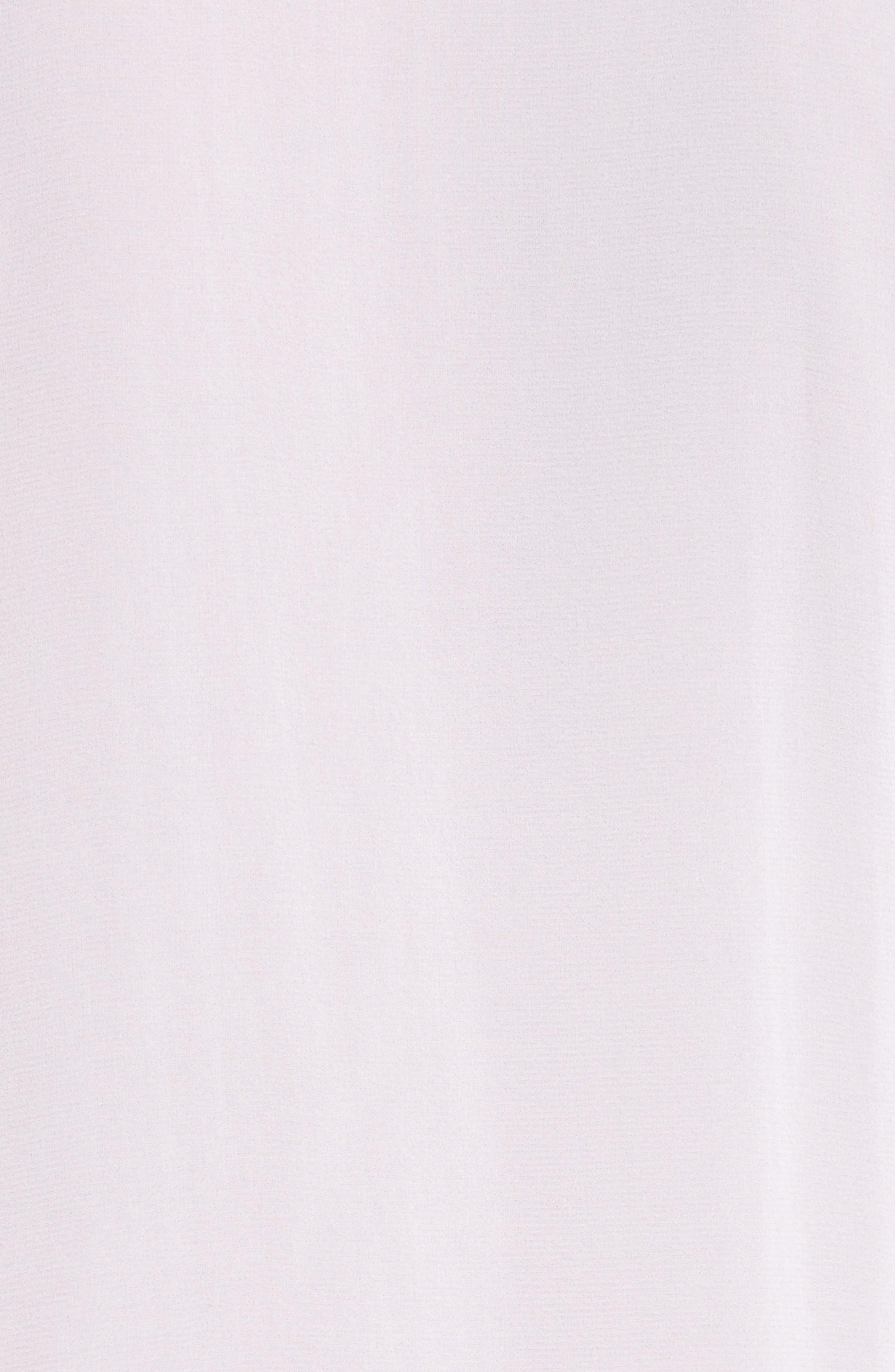 Alternate Image 5  - Alice + Olivia Claudette Ruffle Stretch Silk Top