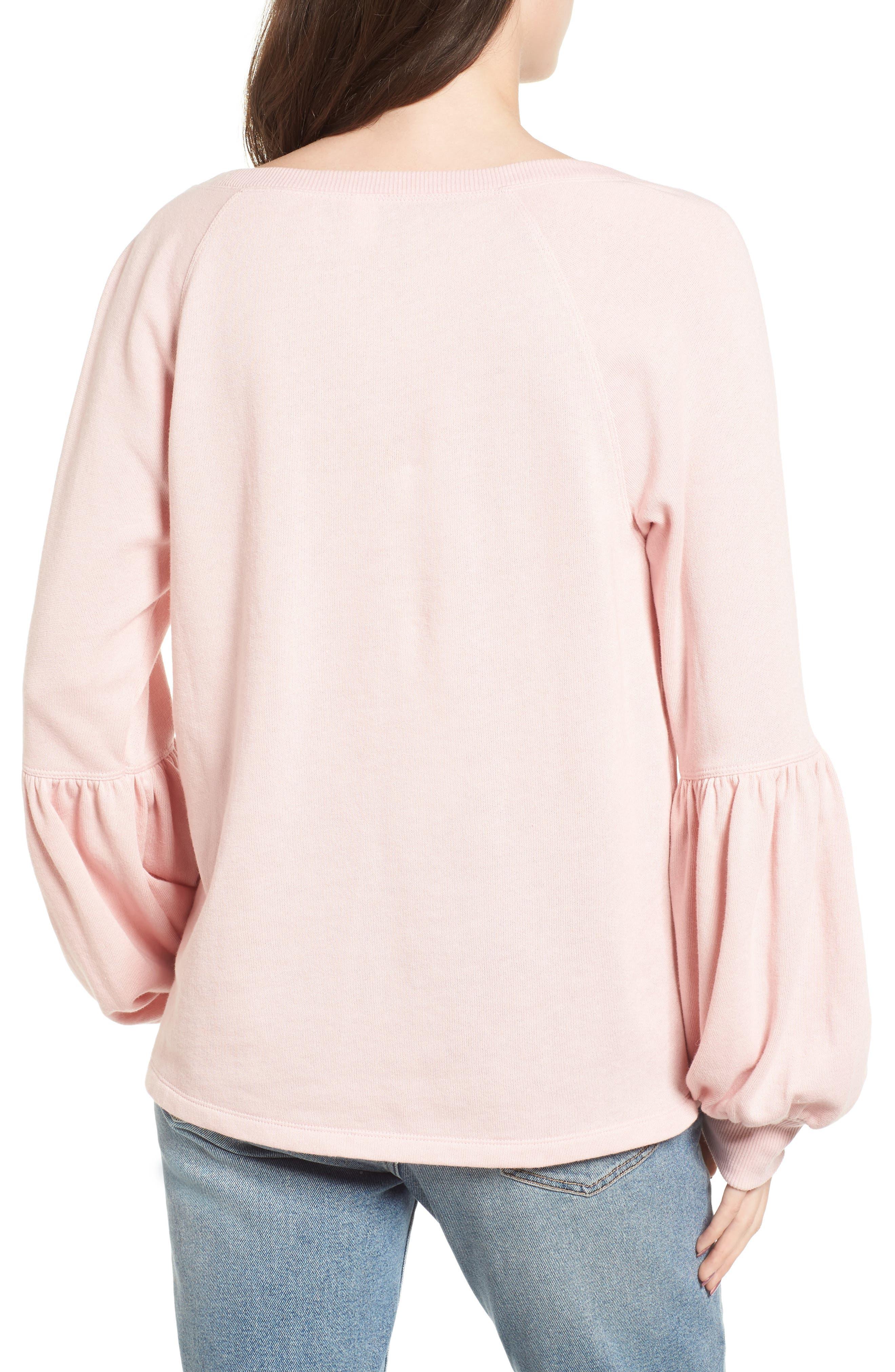 Alternate Image 2  - BP. Blouson Sleeve Sweatshirt