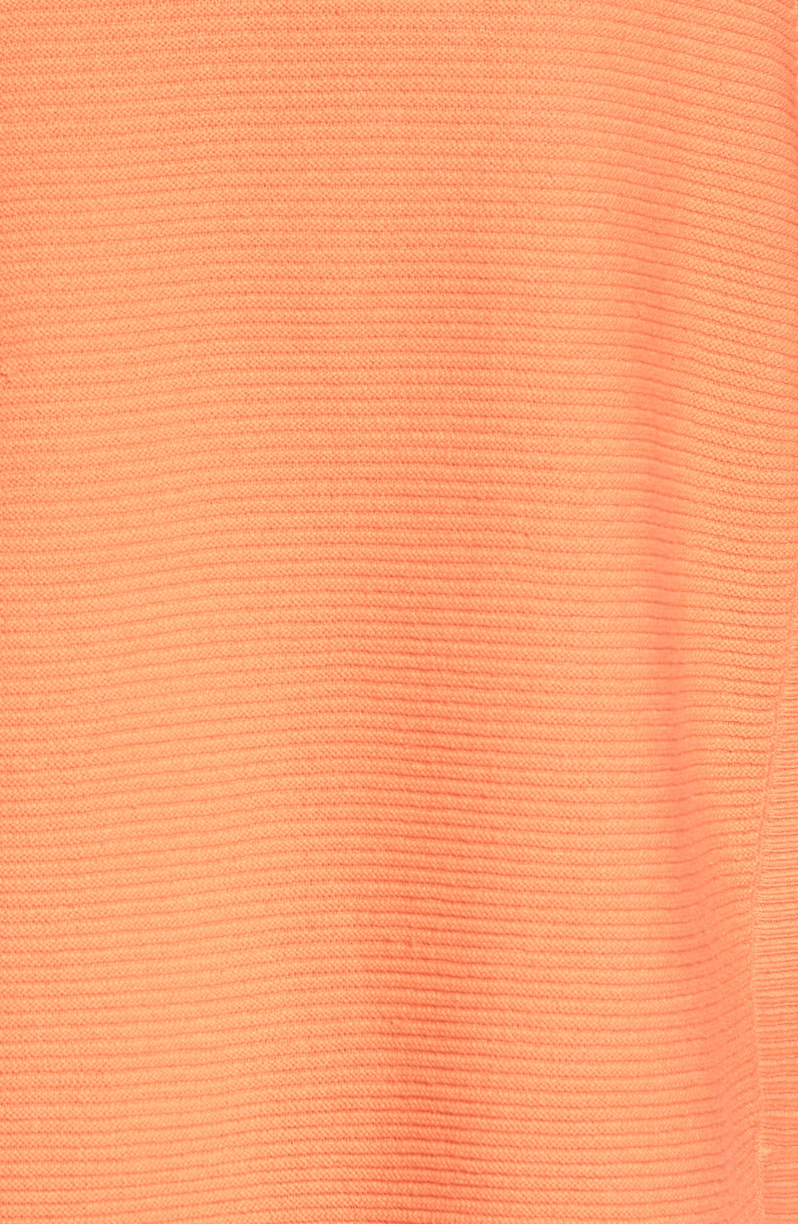 Alternate Image 5  - Chaus Cowl Neck Shirttail Hem Sweater