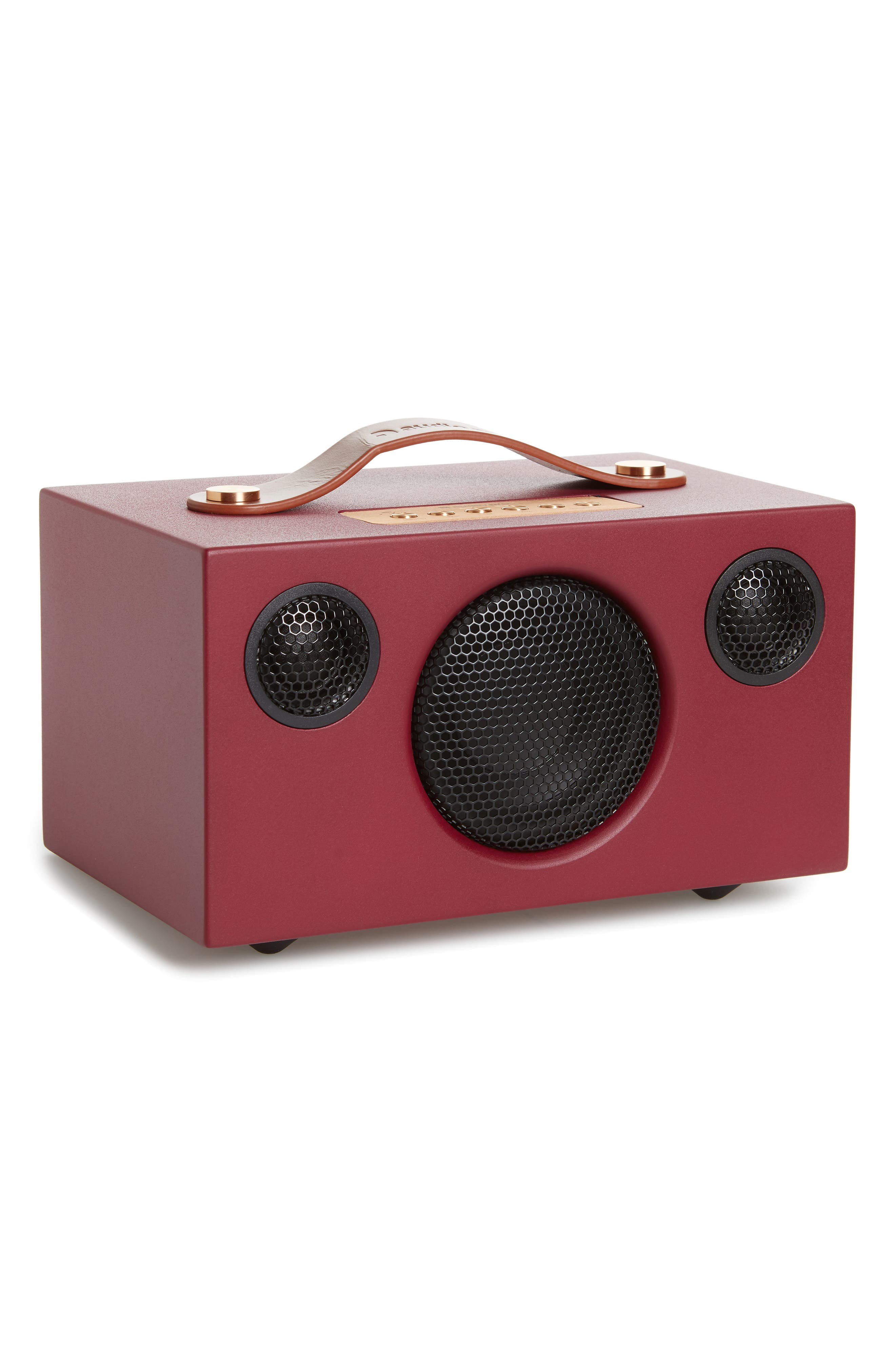 Addon T3 Portable Speaker,                             Main thumbnail 1, color,                             Cabarnet