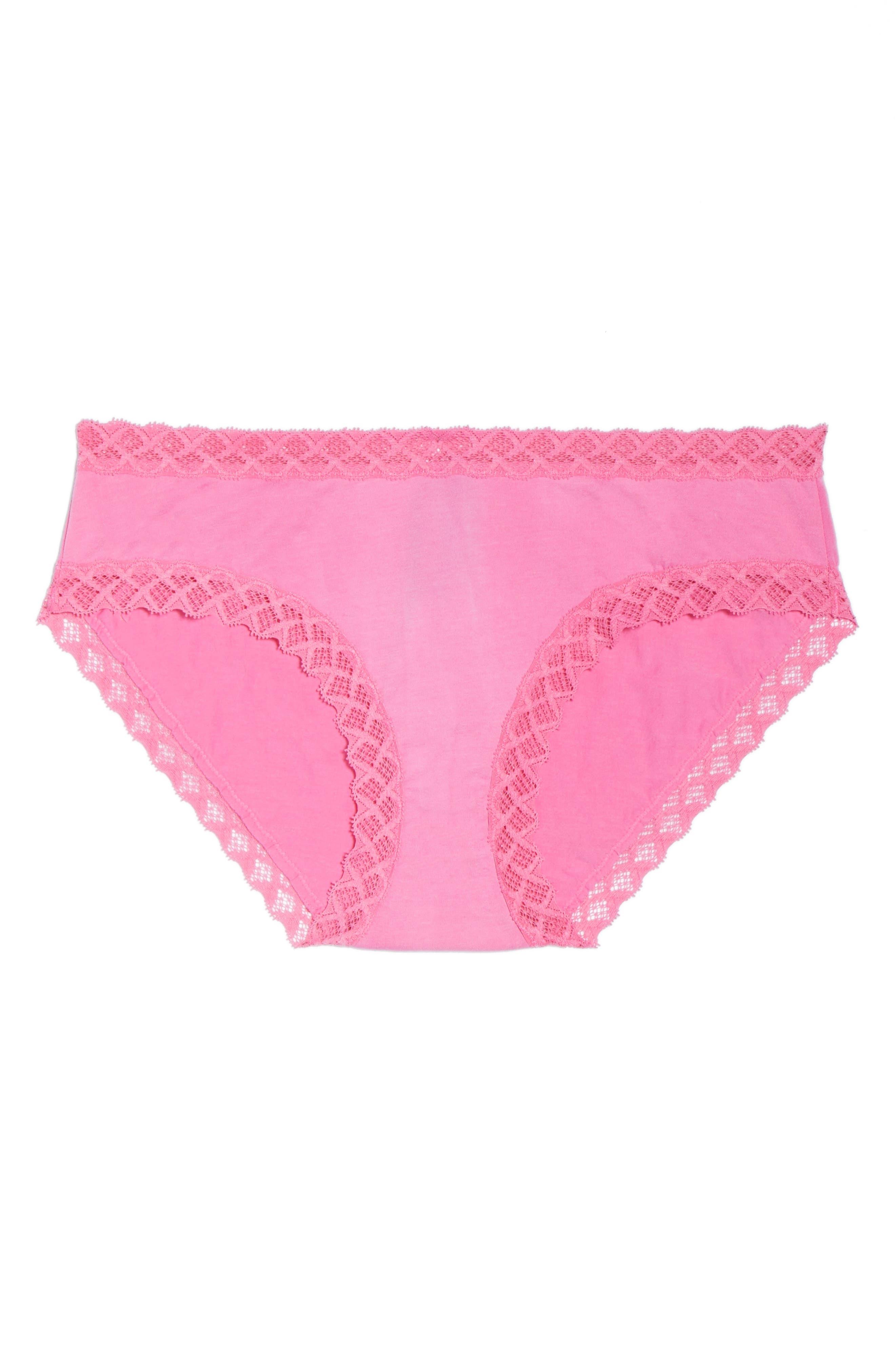 Alternate Image 5  - Natori Bliss Cotton Girl Briefs (3 for $45)