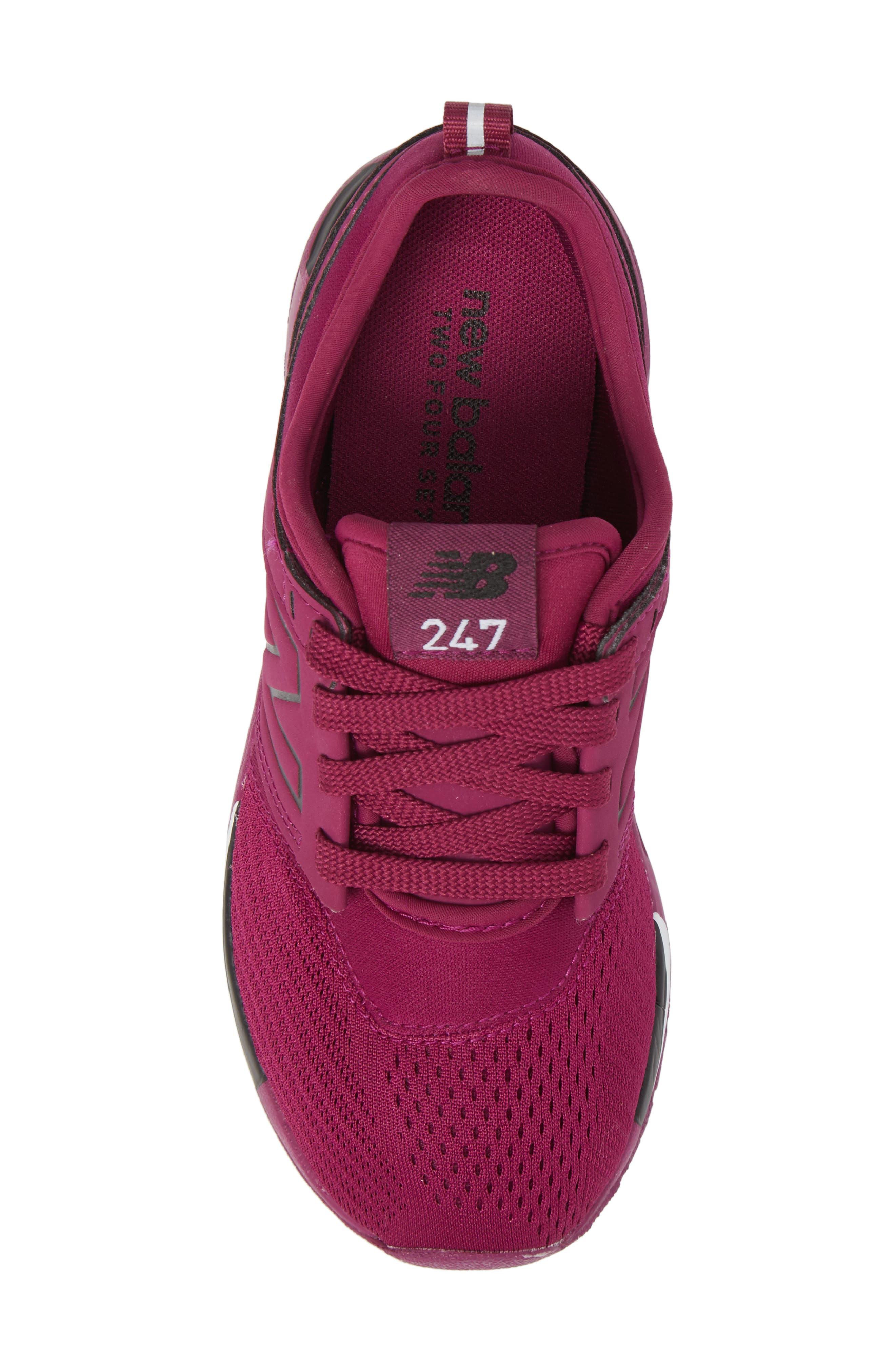 247 Sport Sneaker,                             Alternate thumbnail 5, color,                             Red/ Black