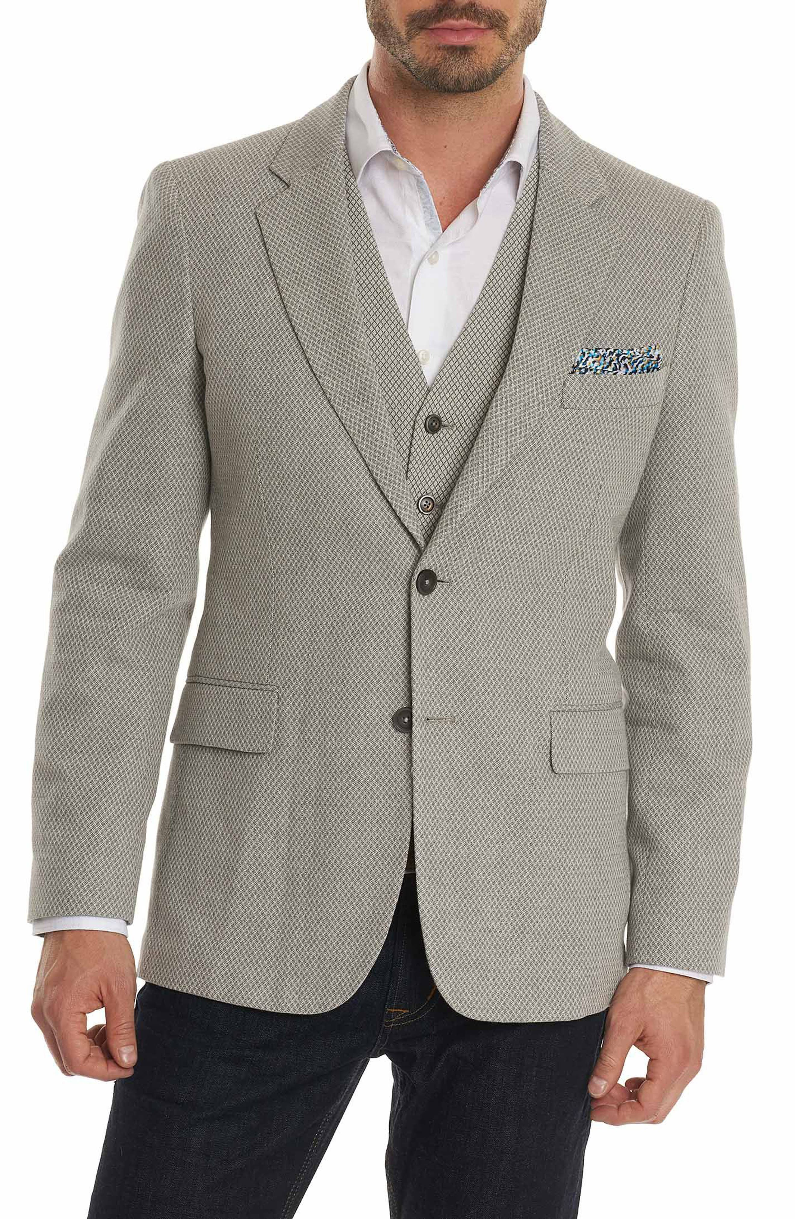Main Image - Robert Graham Marty Cotton & Linen Sport Coat