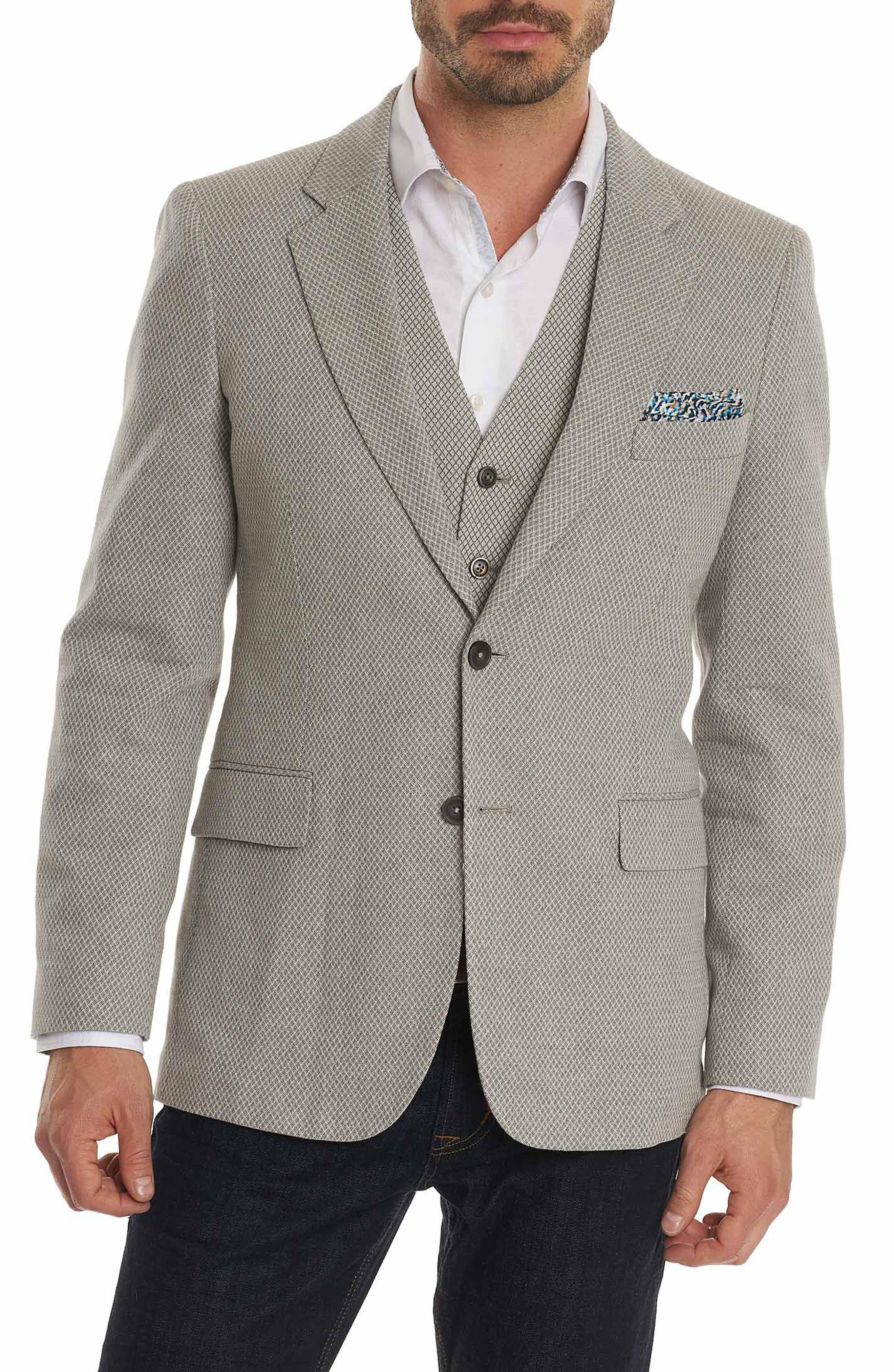 Robert Graham Marty Cotton & Linen Sport Coat