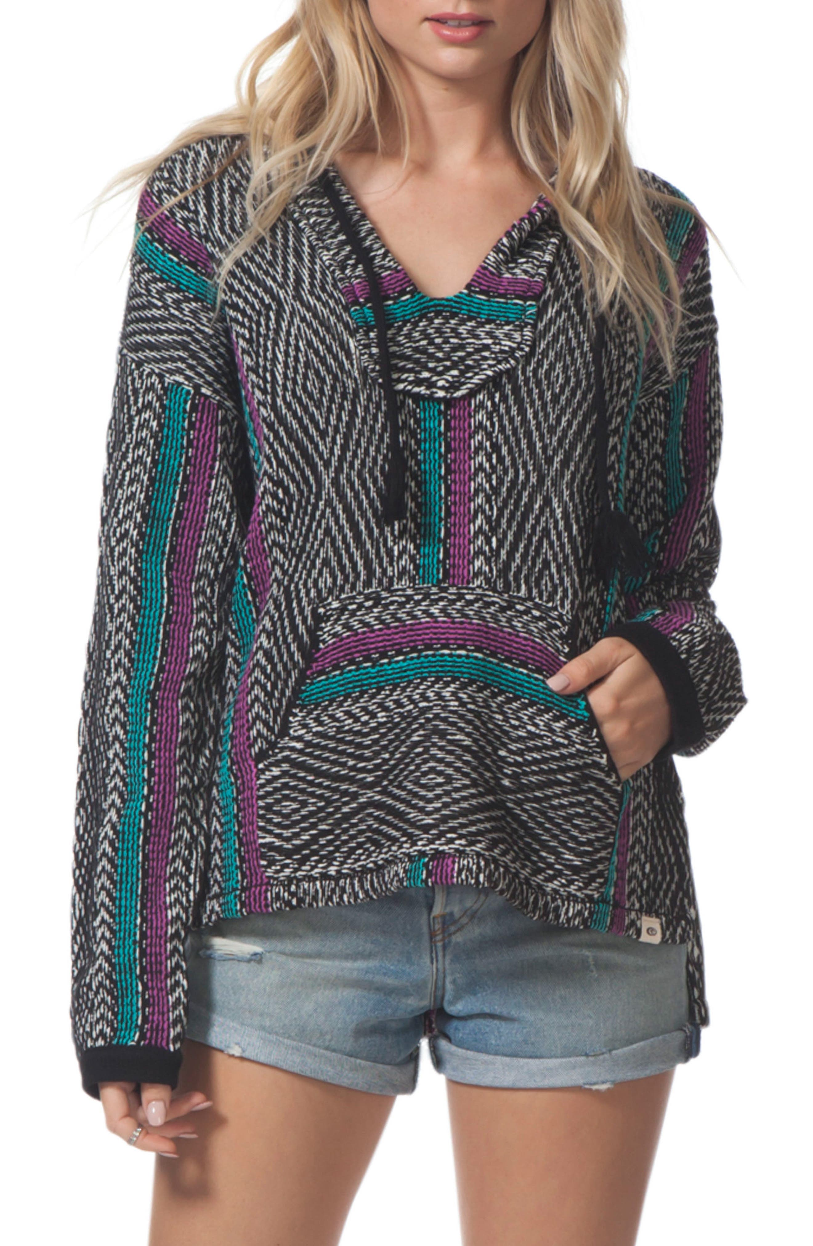 Black Sands Pullover,                         Main,                         color, Charcoal