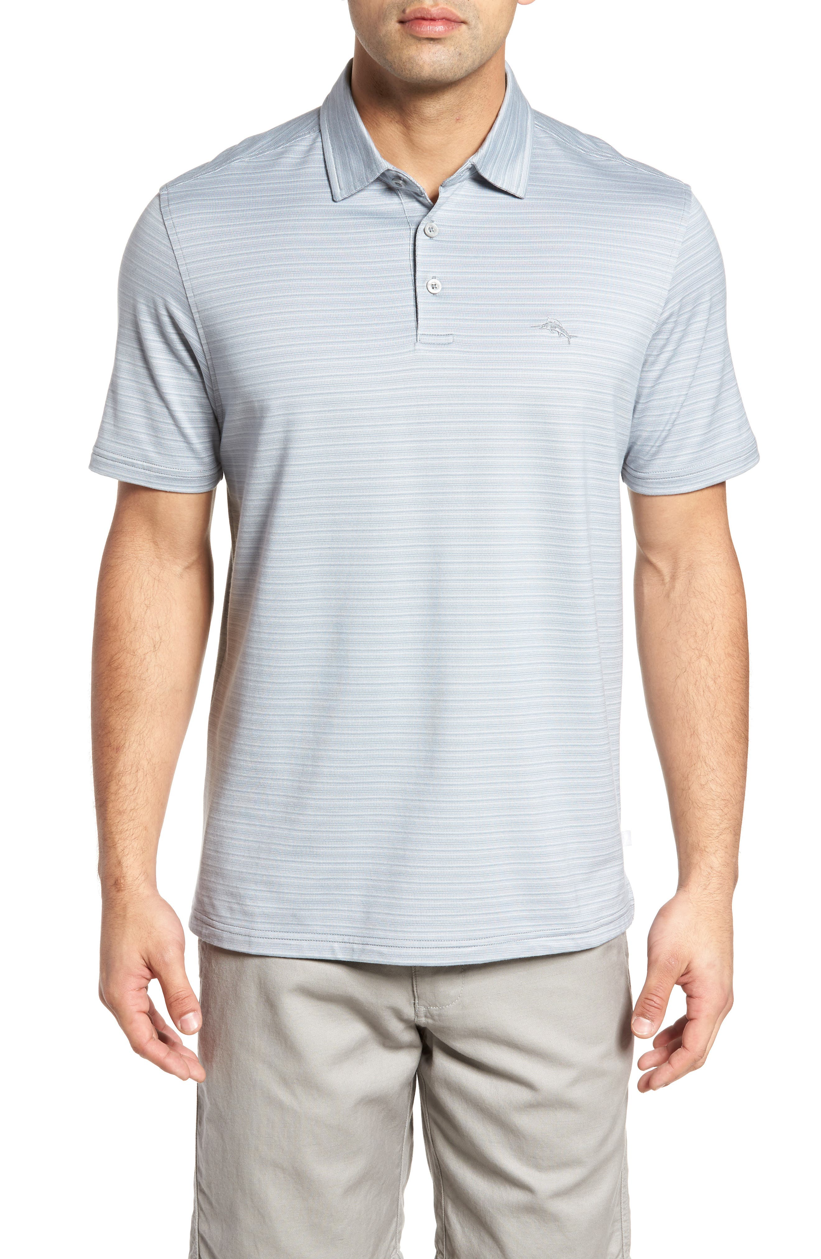 Tommy Bahama New On Par Stripe Polo