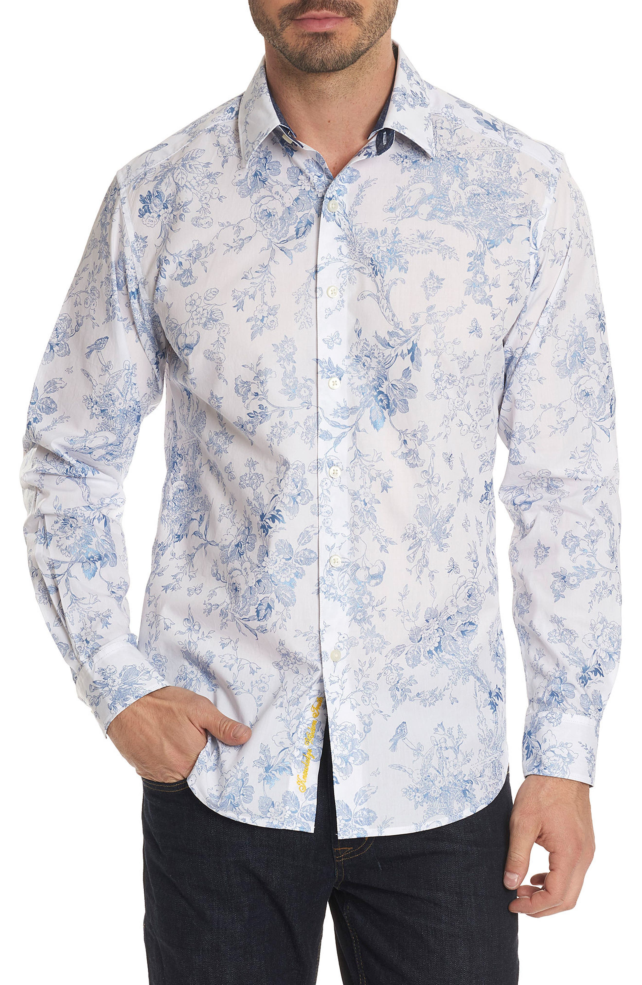 Rider Classic Fit Sport Shirt,                         Main,                         color, White