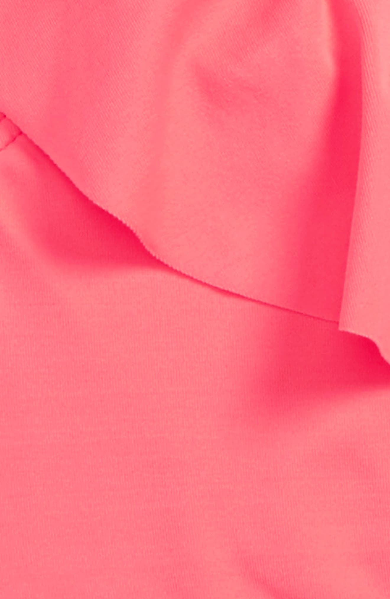 Sol Searcher Two-Piece Swimsuit,                             Alternate thumbnail 4, color,                             Neon Coral