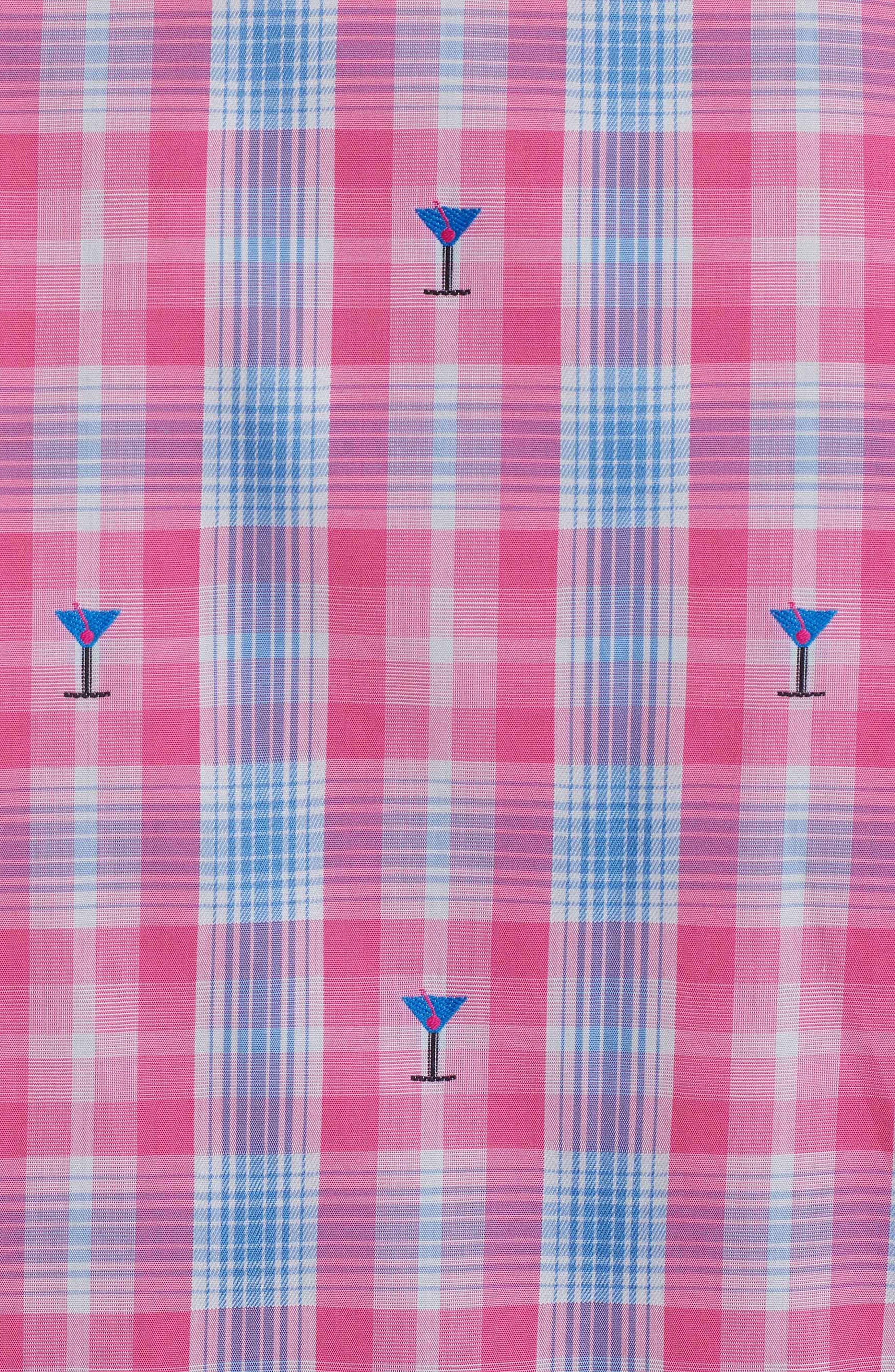 Alternate Image 6  - Robert Graham Chancellor Martini Plaid Sport Shirt