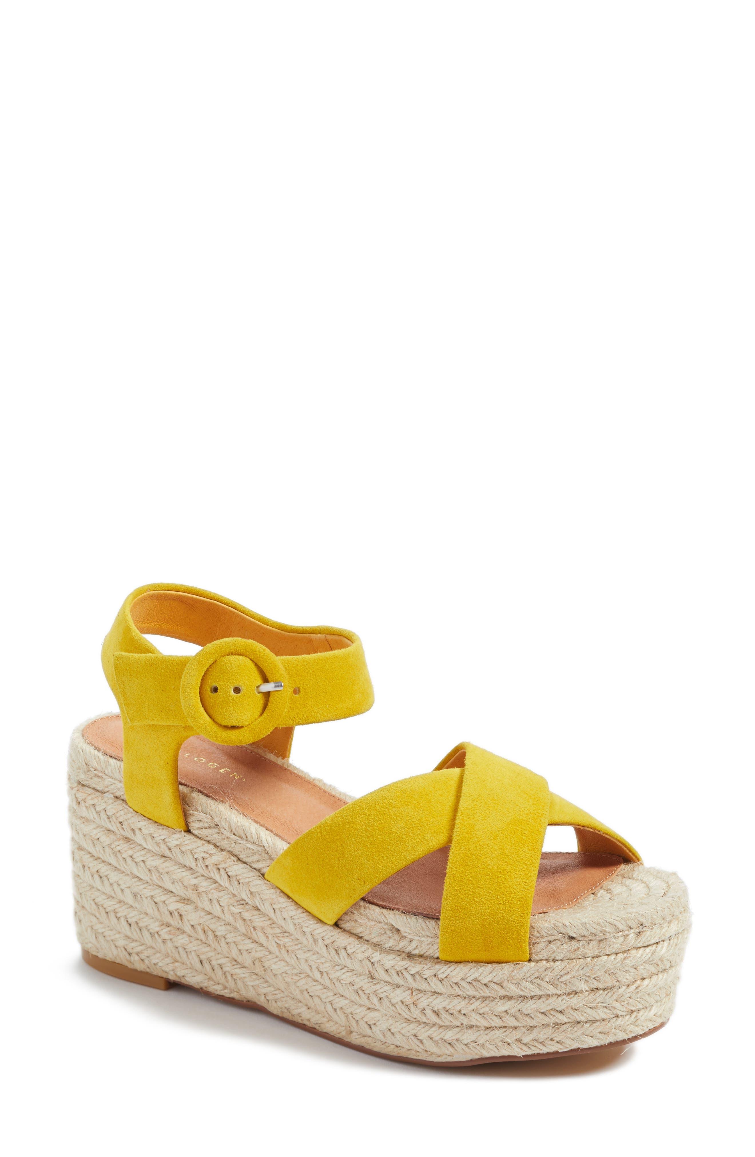 Alternate Image 1 Selected - Halogen® Emery Platform Espadrille Sandal (Women)