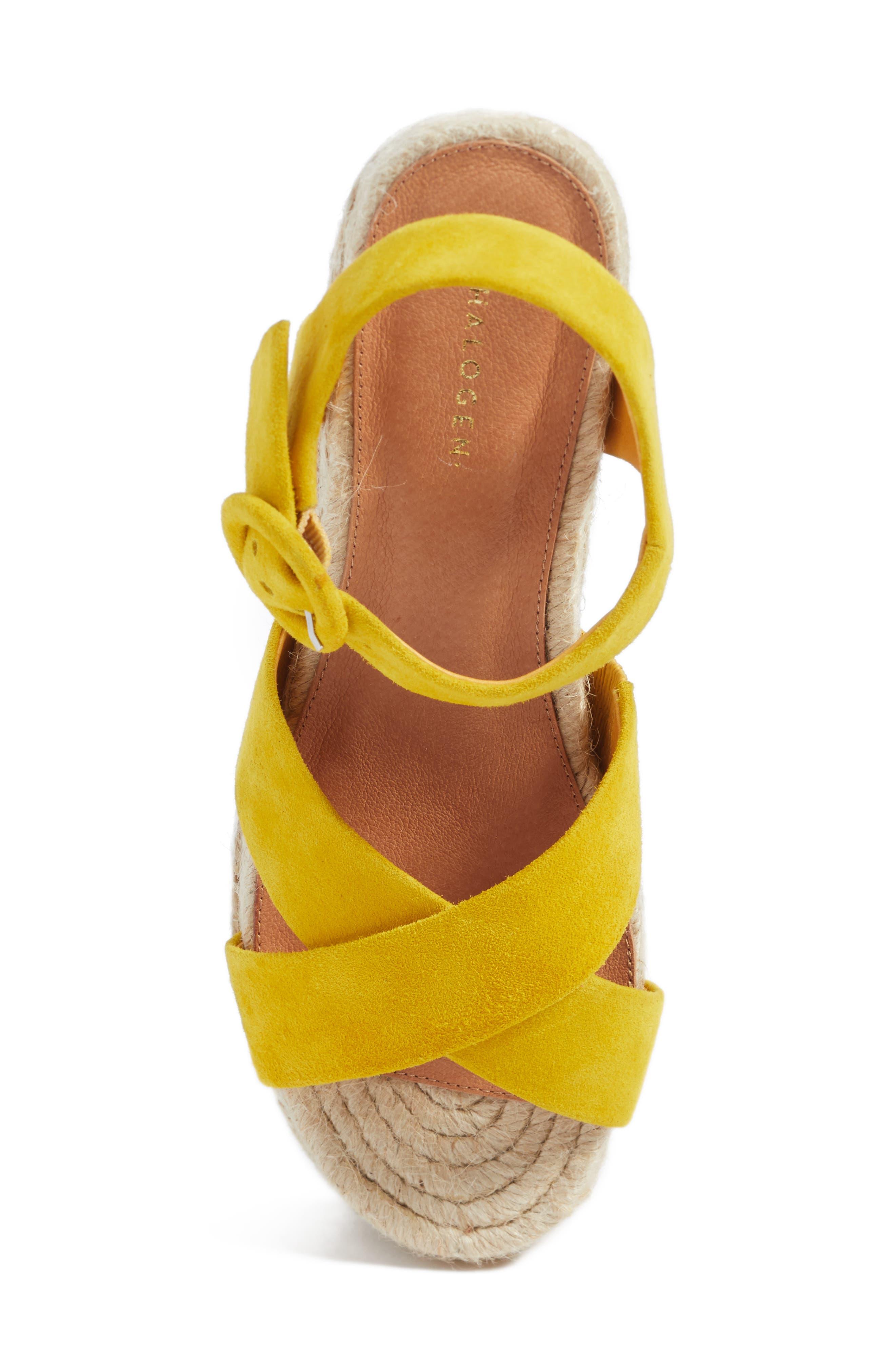 Alternate Image 5  - Halogen® Emery Platform Espadrille Sandal (Women)