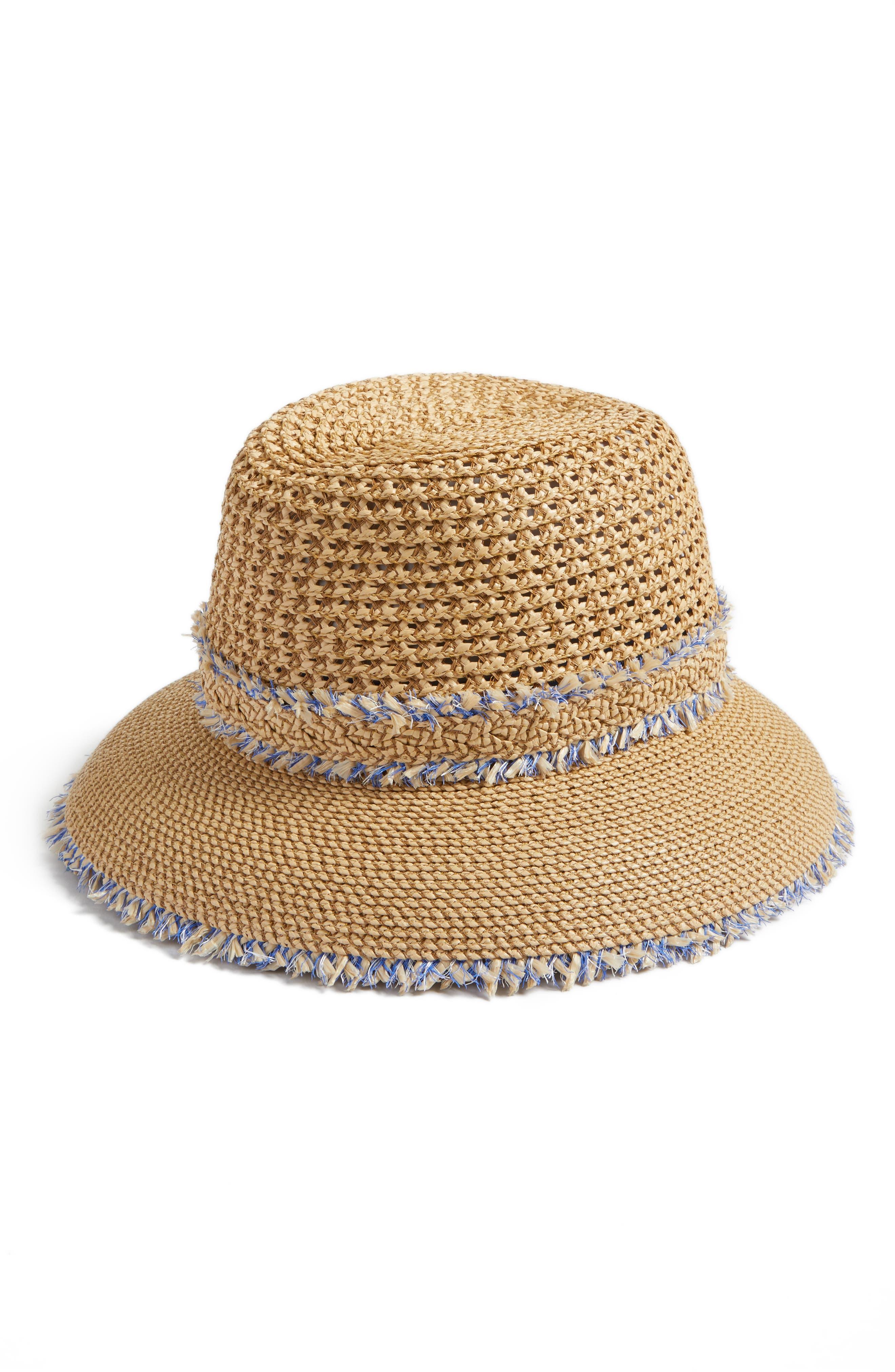 Eric Javits Lulu Squishee® Straw Hat