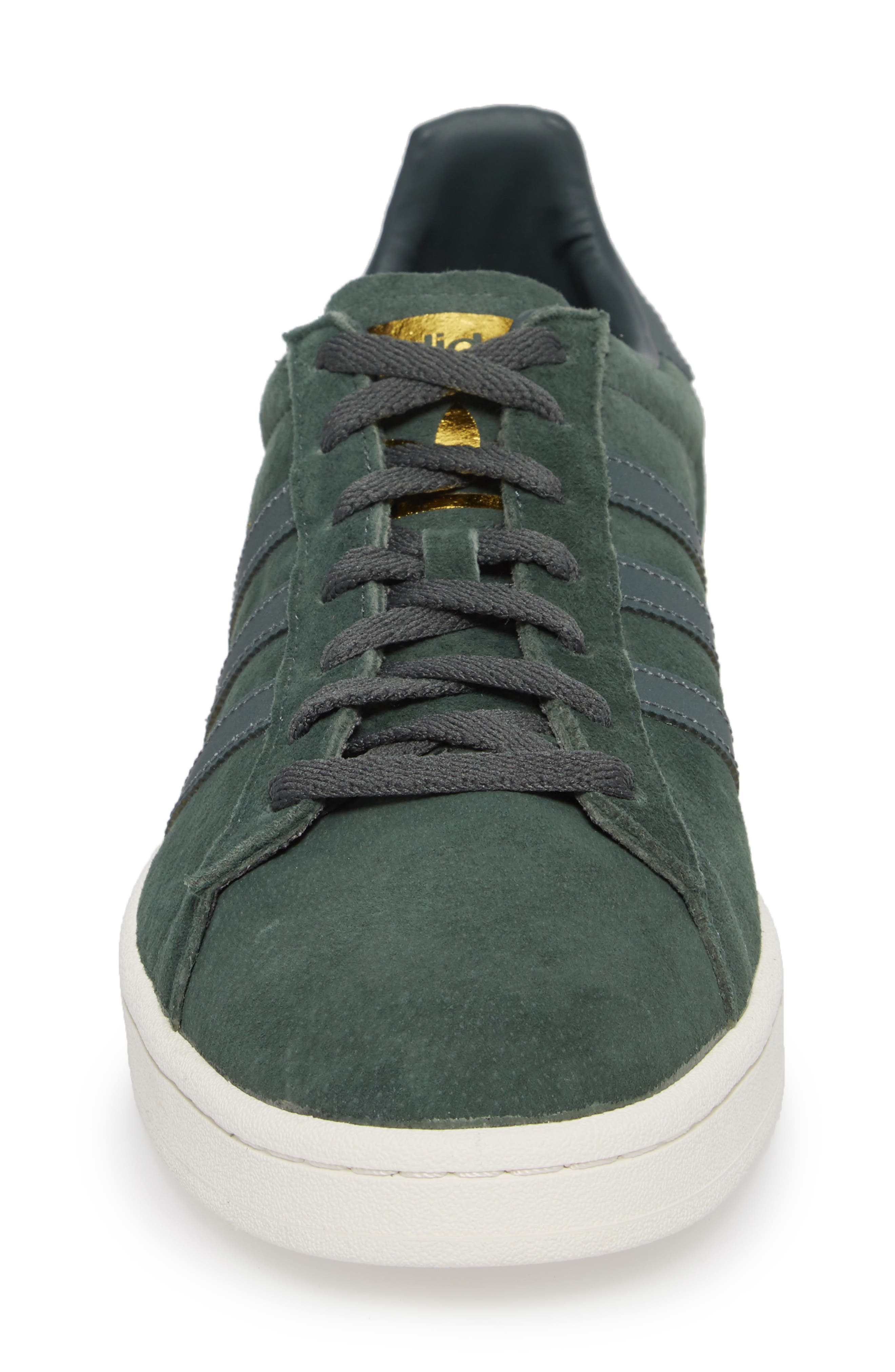Campus Sneaker,                             Alternate thumbnail 4, color,                             Utility Ivy/ Reflective/ Gold