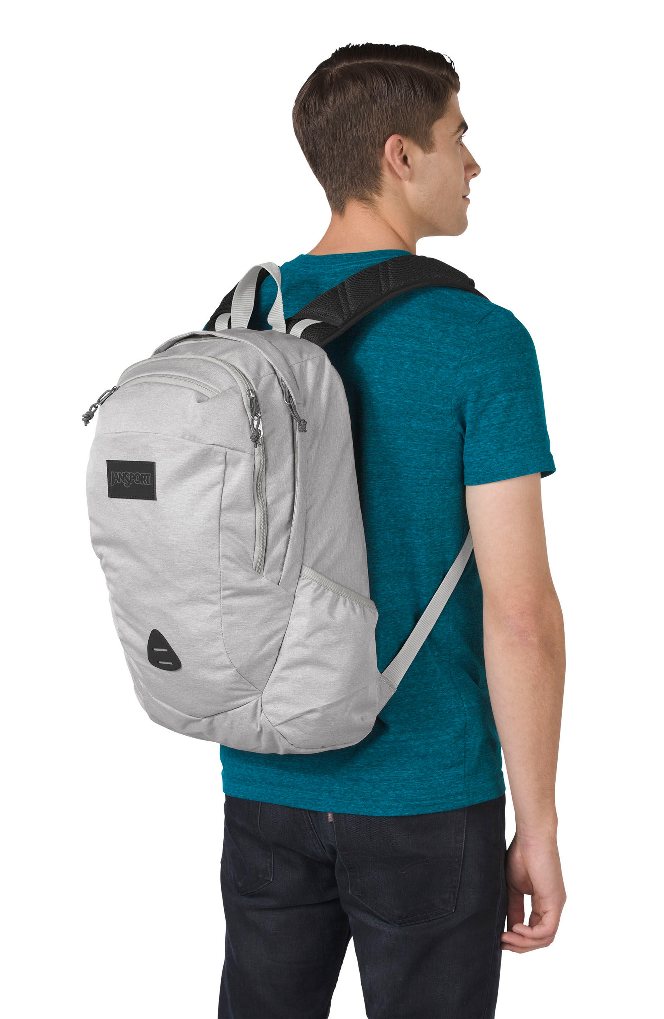 Wynwood Backpack,                             Alternate thumbnail 2, color,                             Grey Heathered Poly