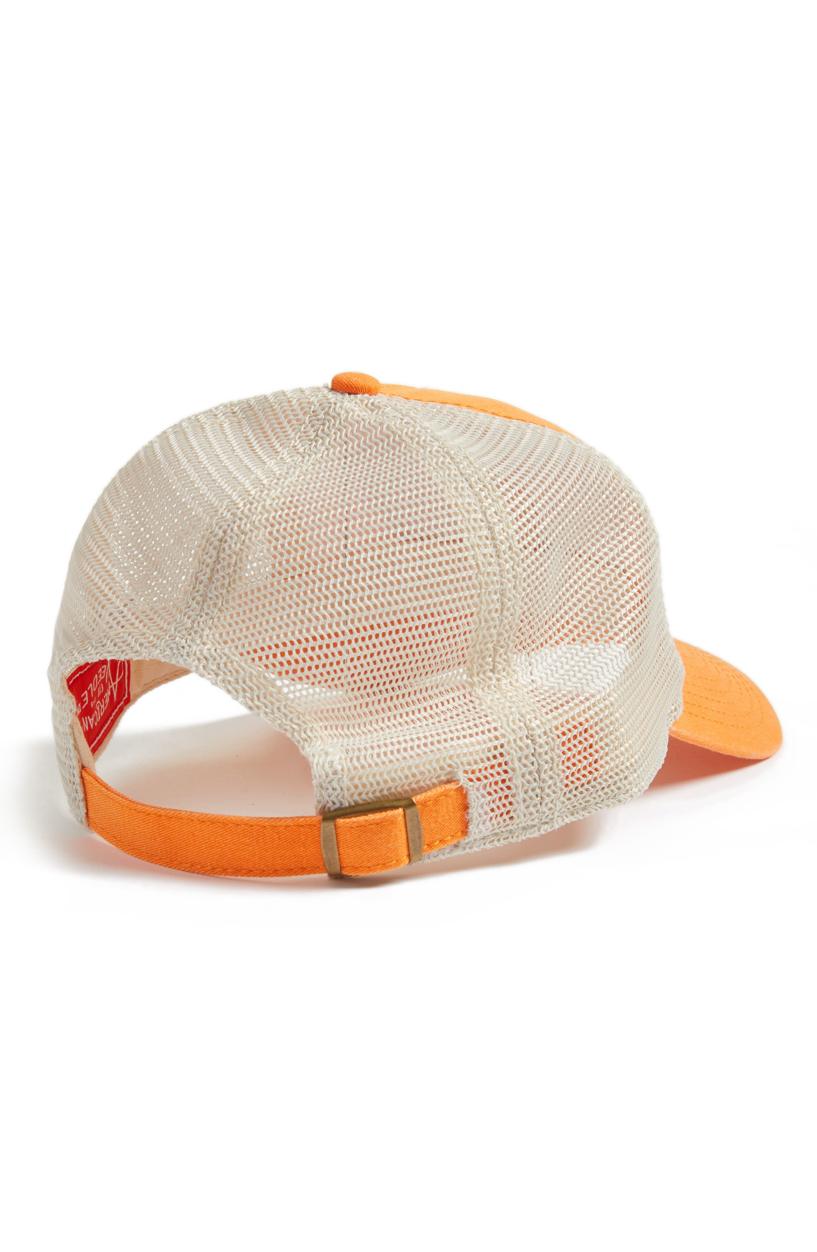 Ravenswood - Destination San Francisco Hat,                             Alternate thumbnail 2, color,                             Ivory/ Orange