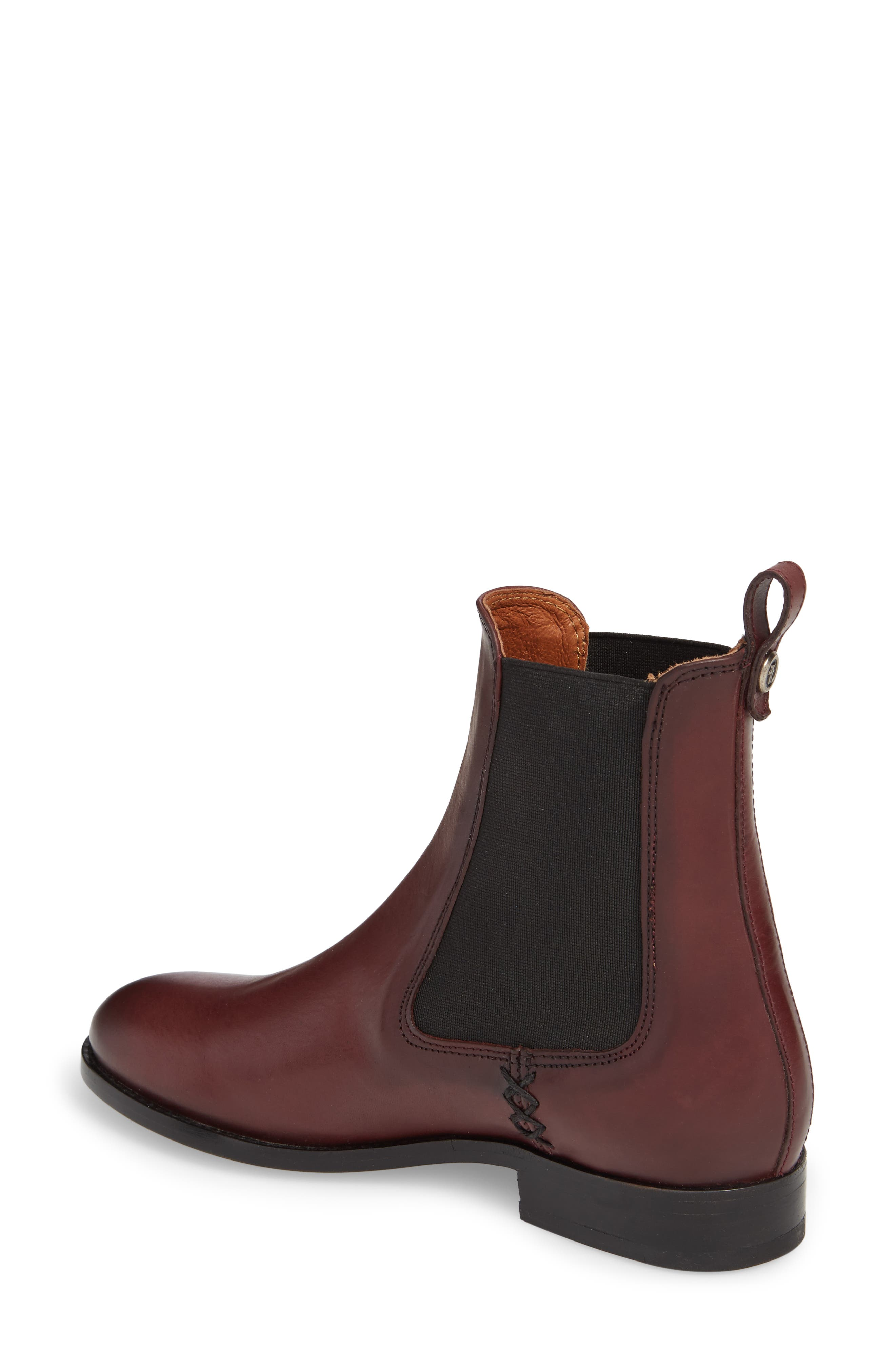 Melissa Chelsea Boot,                             Alternate thumbnail 2, color,                             Wine